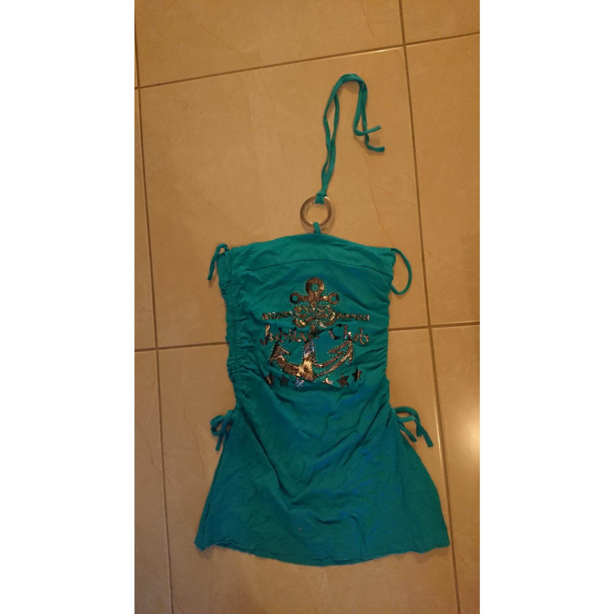 Top, tee-shirt MARQUE INCONNUE Bleu, bleu marine, bleu turquoise