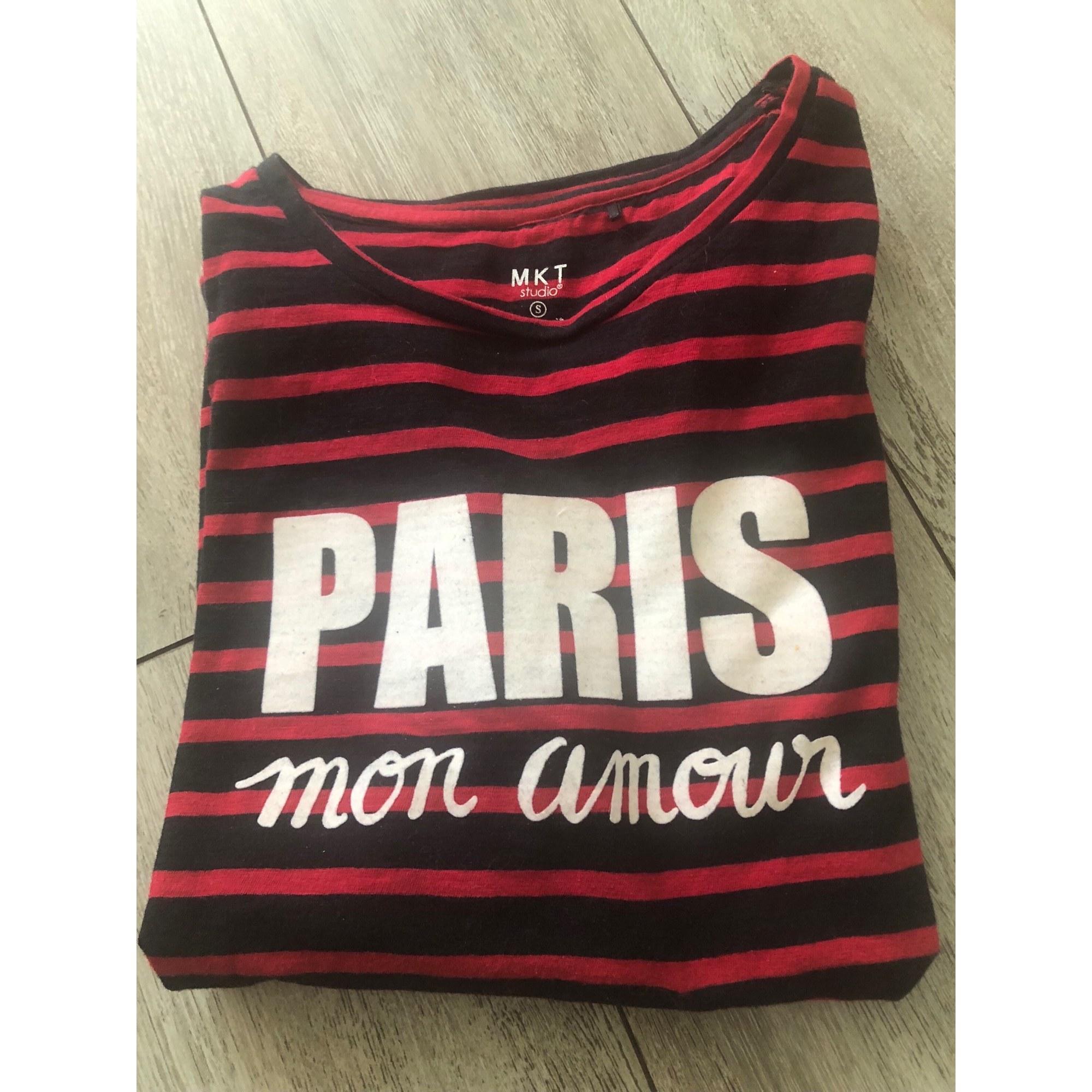Top, tee-shirt MKT Rayé