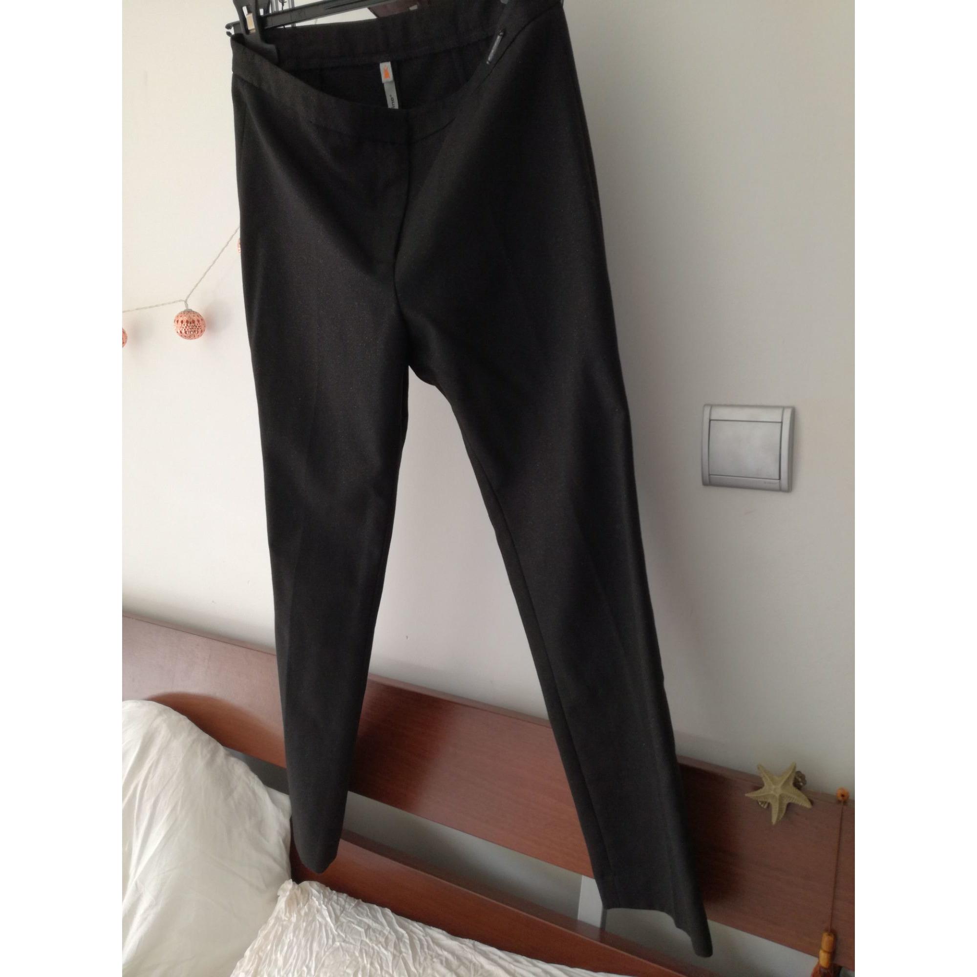 Pantalon slim, cigarette COP-COPINE Noir