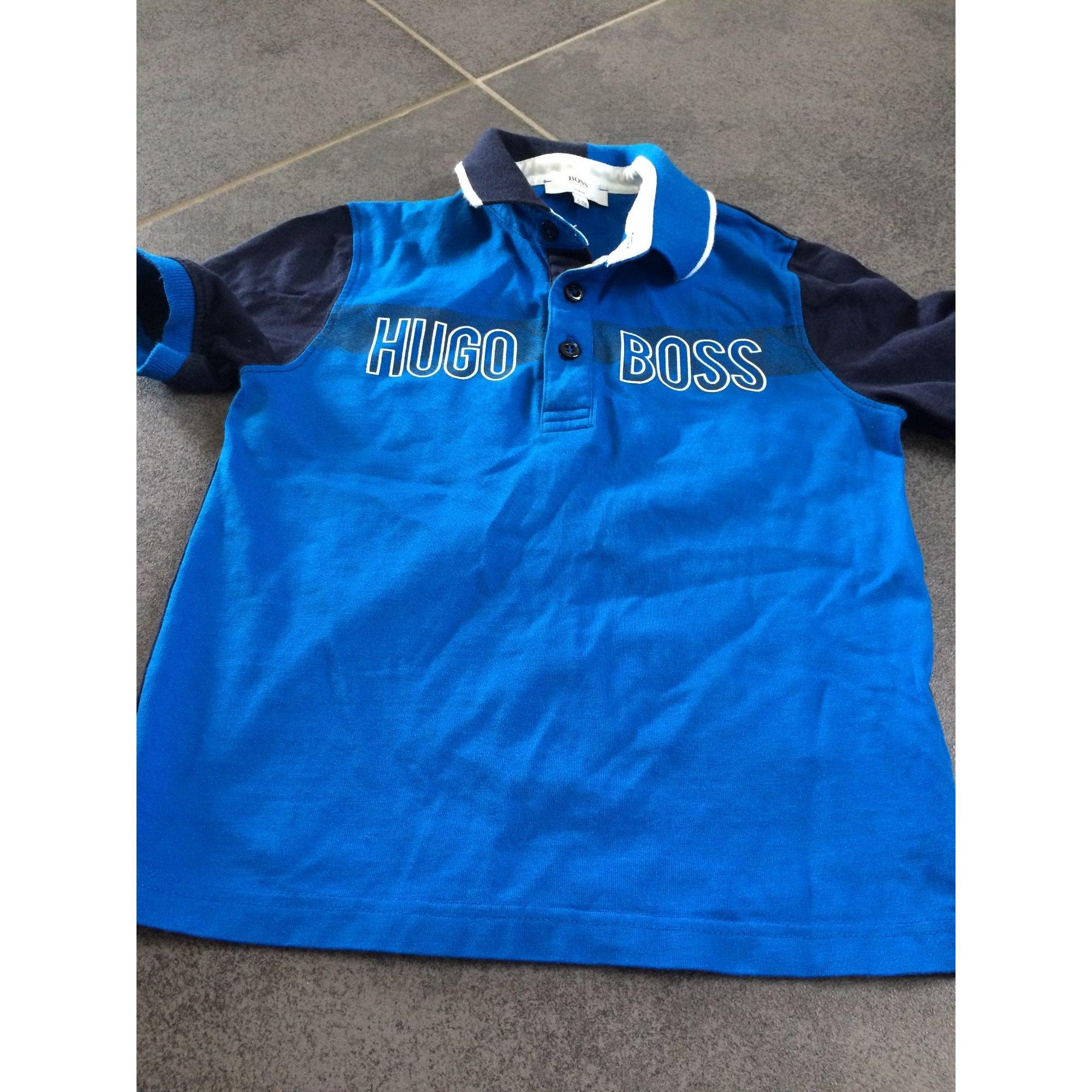 Polo HUGO BOSS Bleu, bleu marine, bleu turquoise
