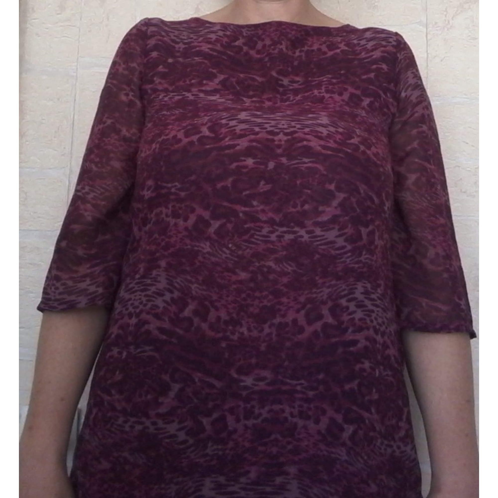 Top, tee-shirt KIABI Violet, mauve, lavande