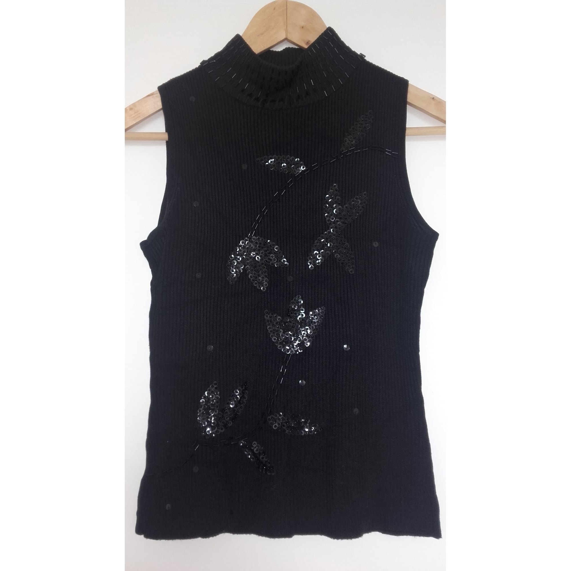 Top, tee-shirt NEUF NEUF Noir