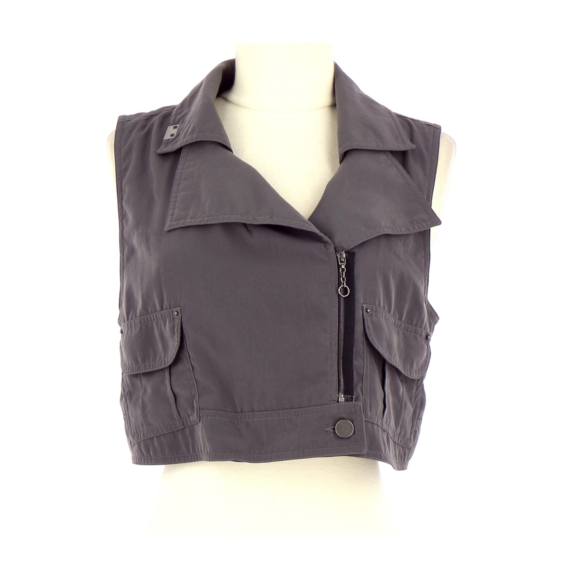Gilet, cardigan COP-COPINE Violet, mauve, lavande