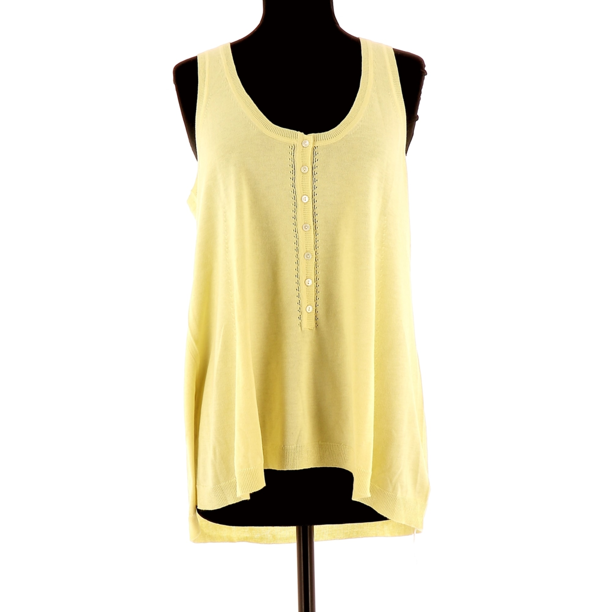 Top, tee-shirt ERIC BOMPARD Jaune