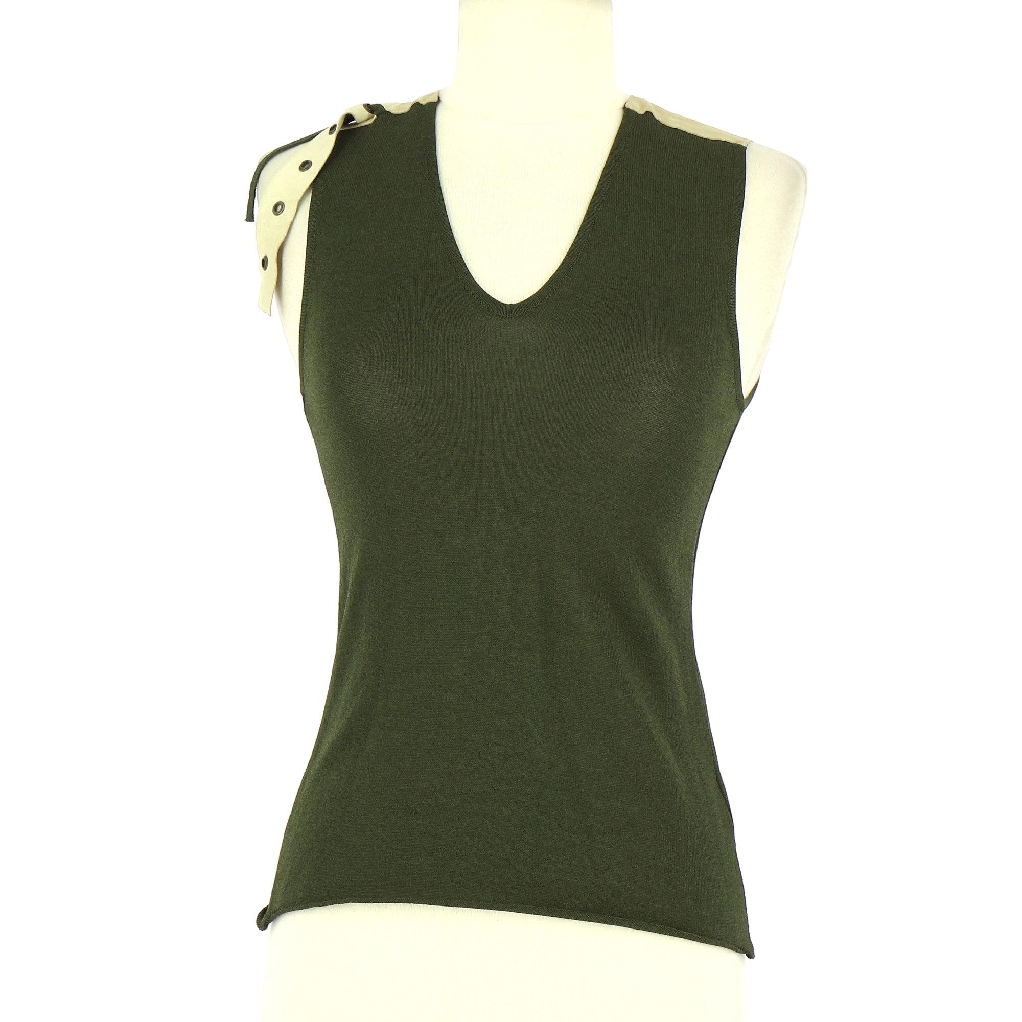 Top, tee-shirt PIERANTONIO GASPARI Vert