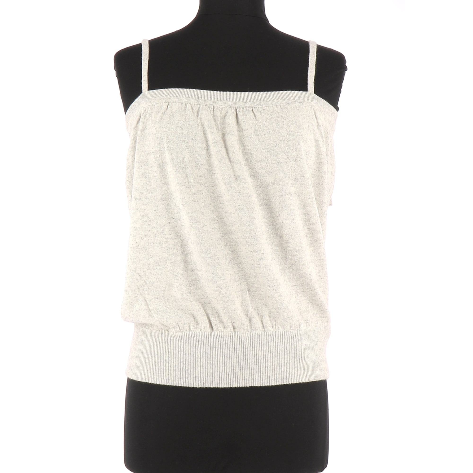 Top, tee-shirt ERIC BOMPARD Gris, anthracite