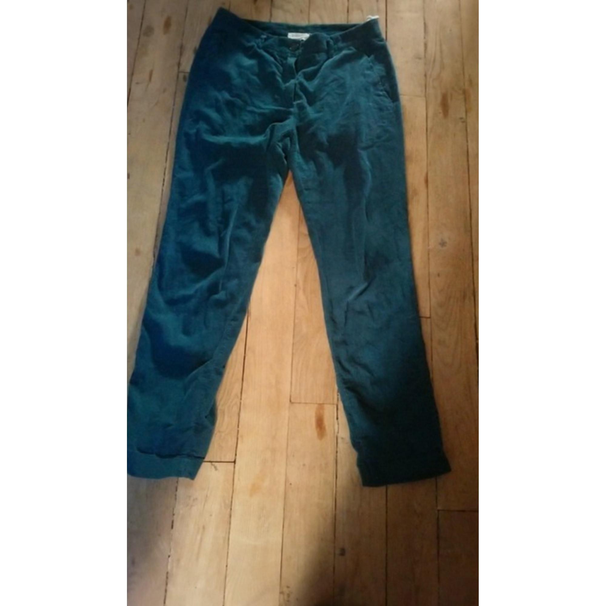 Pantalon droit MARQUE INCONNUE Vert