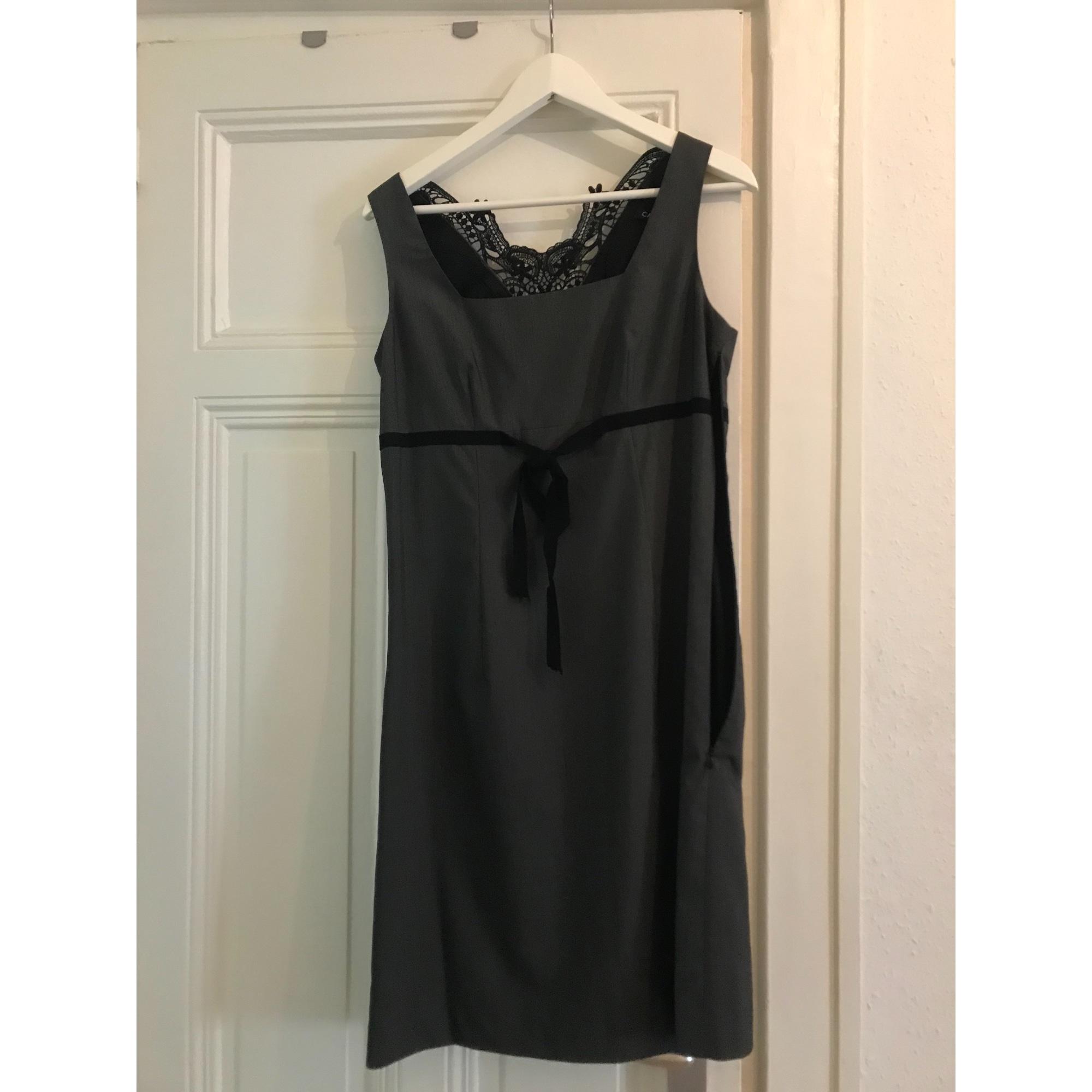 Tailleur robe CAROLL Gris, anthracite