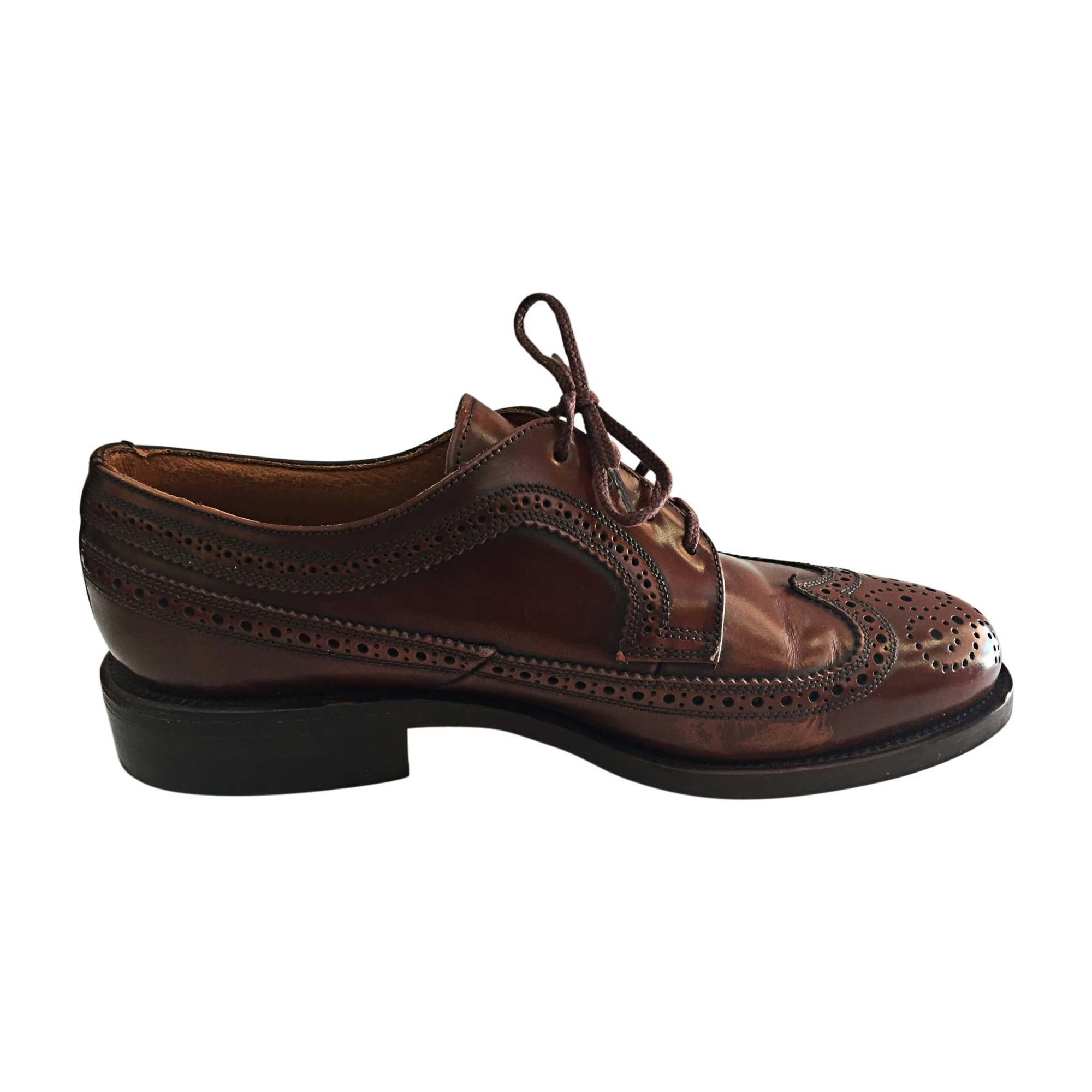 Chaussures à lacets BALLY Marron
