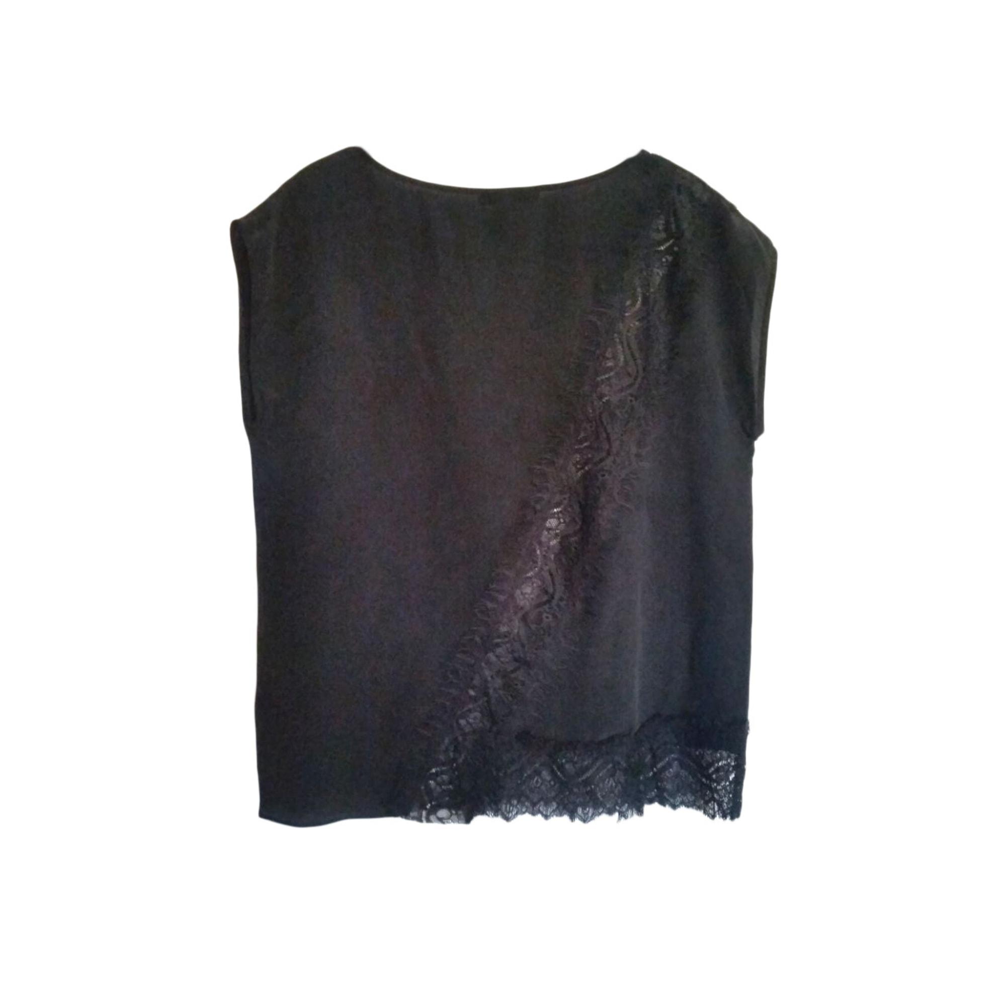 Top, tee-shirt LES PETITES... Noir