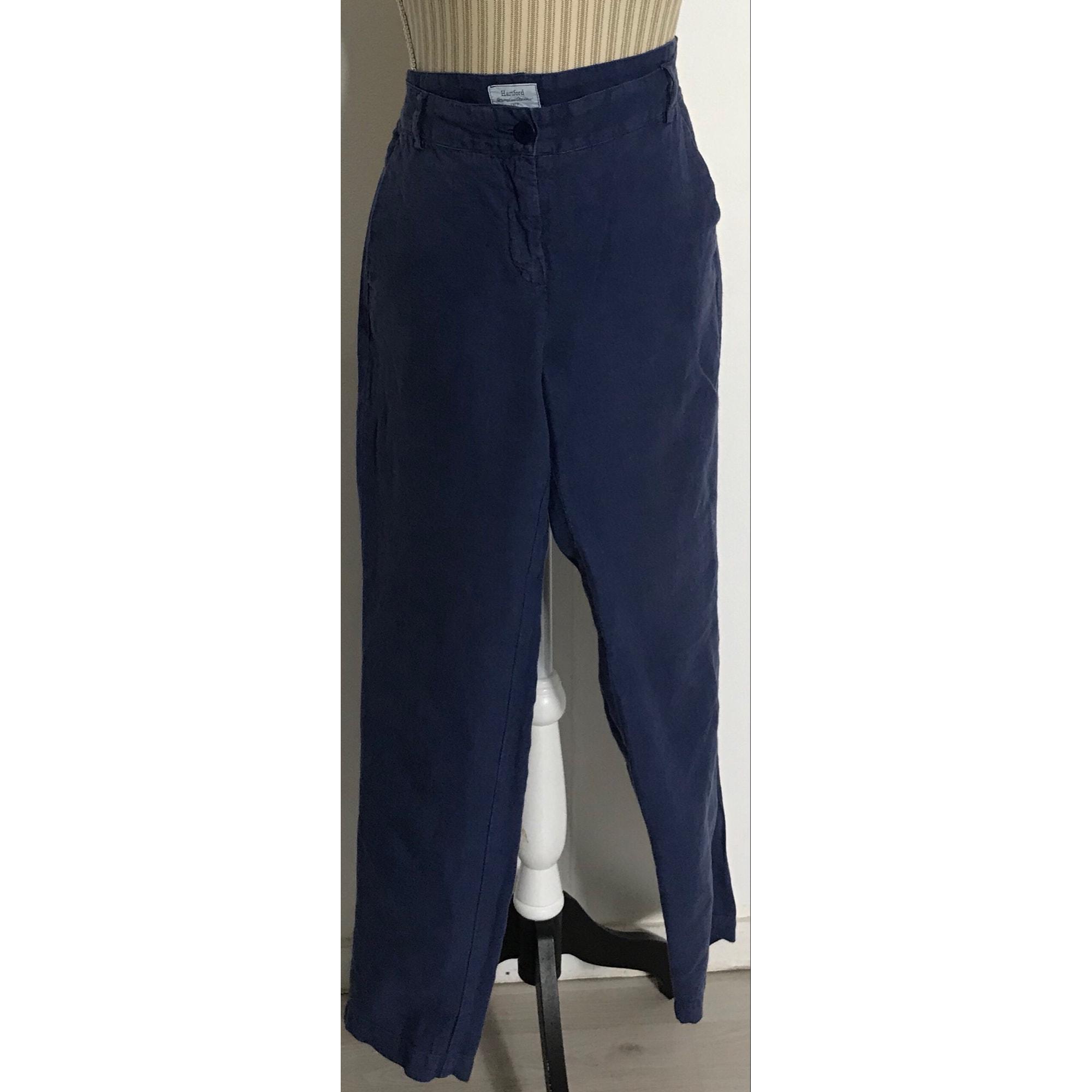 Pantalon droit HARTFORD Bleu, bleu marine, bleu turquoise