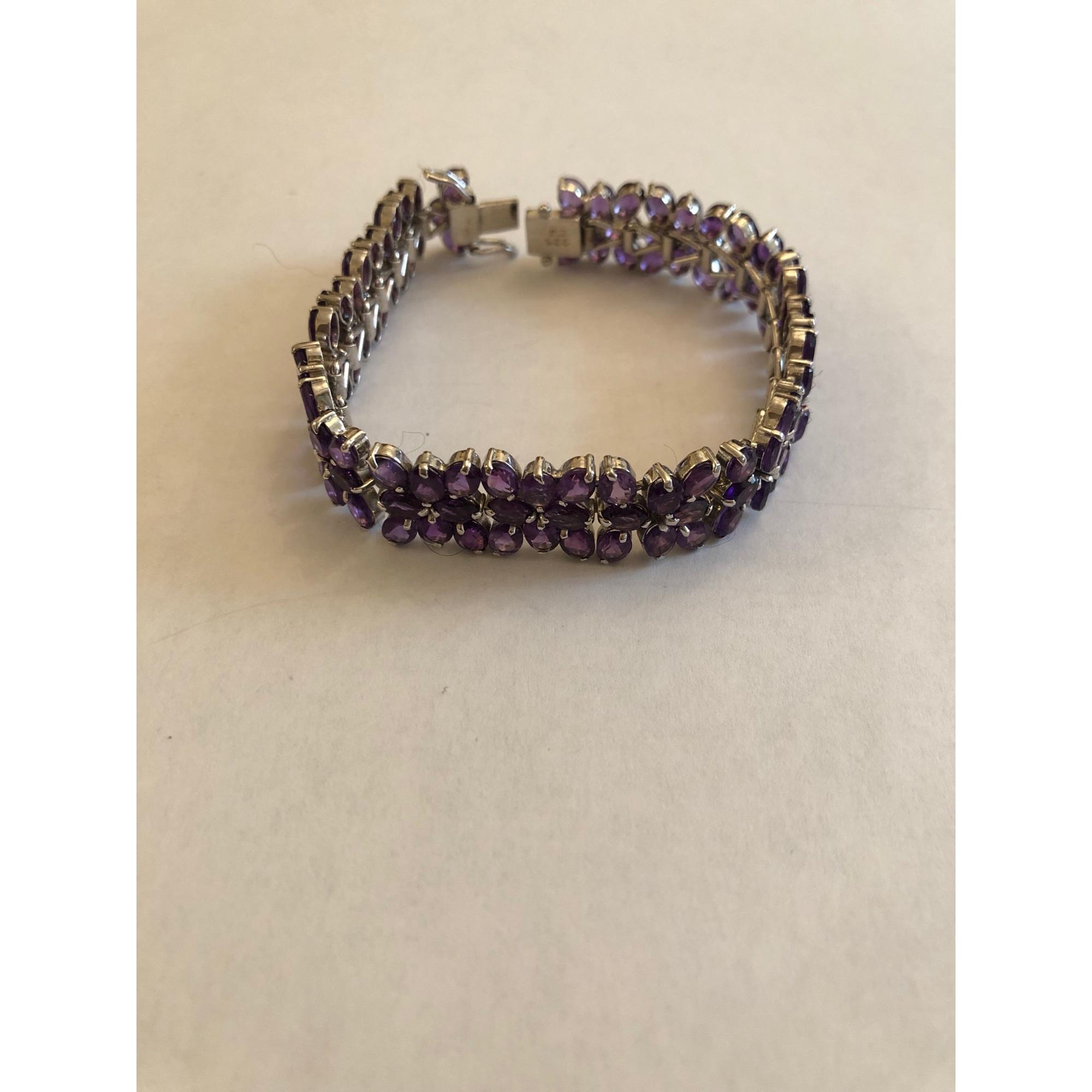 Bracelet MARQUE INCONNUE Violet, mauve, lavande