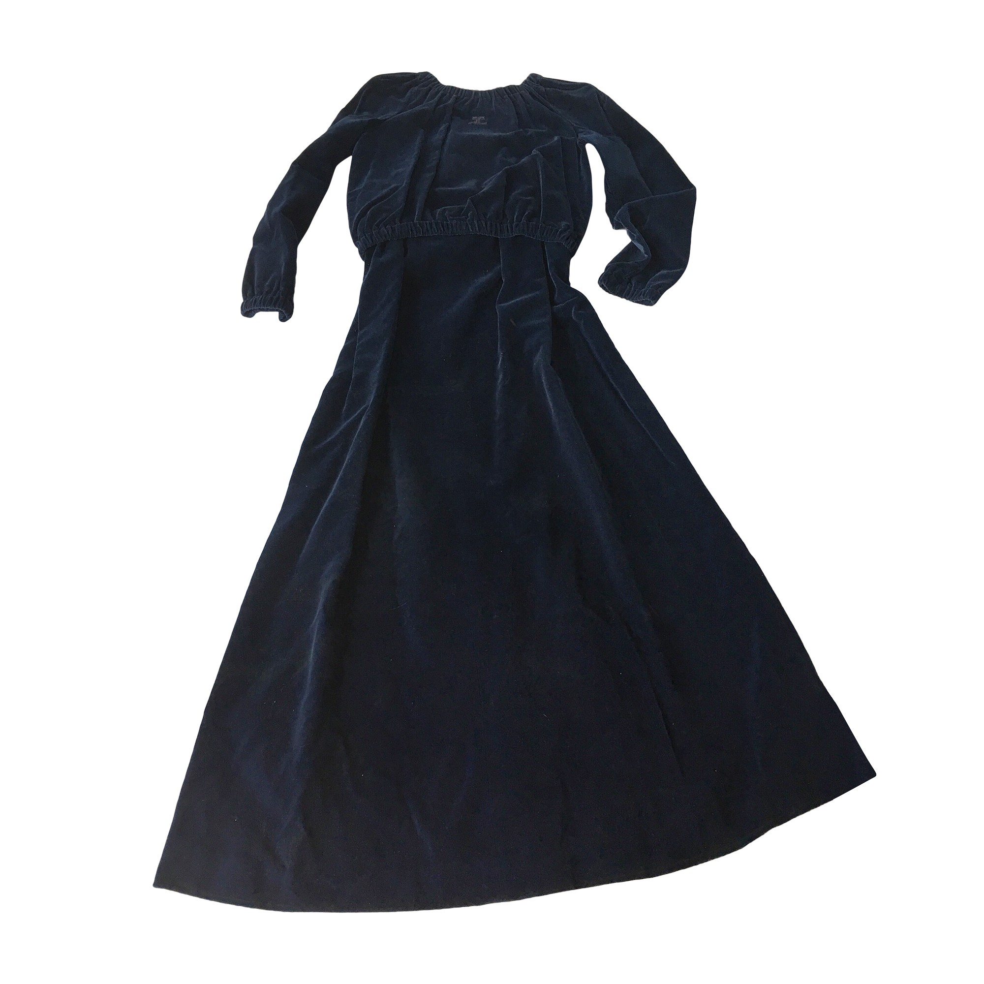 Tailleur jupe COURRÈGES Bleu, bleu marine, bleu turquoise