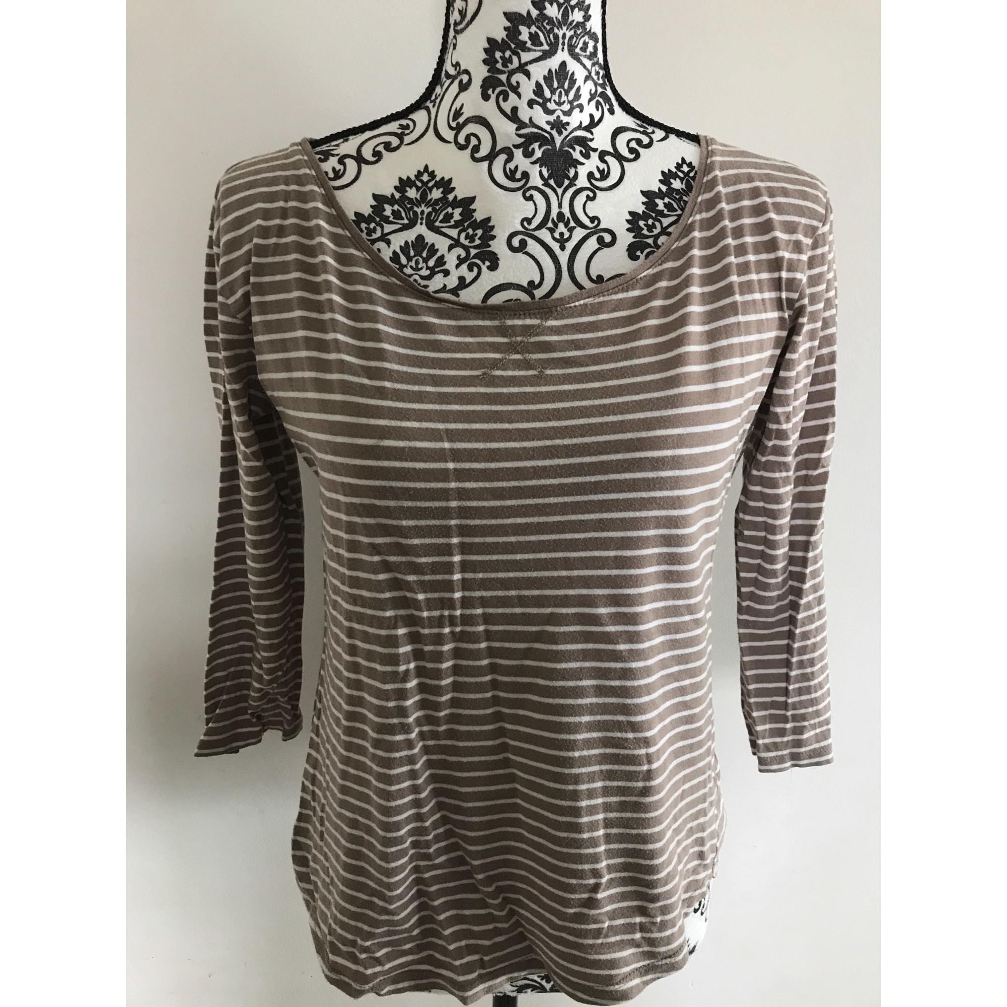 Top, tee-shirt KIABI Marron