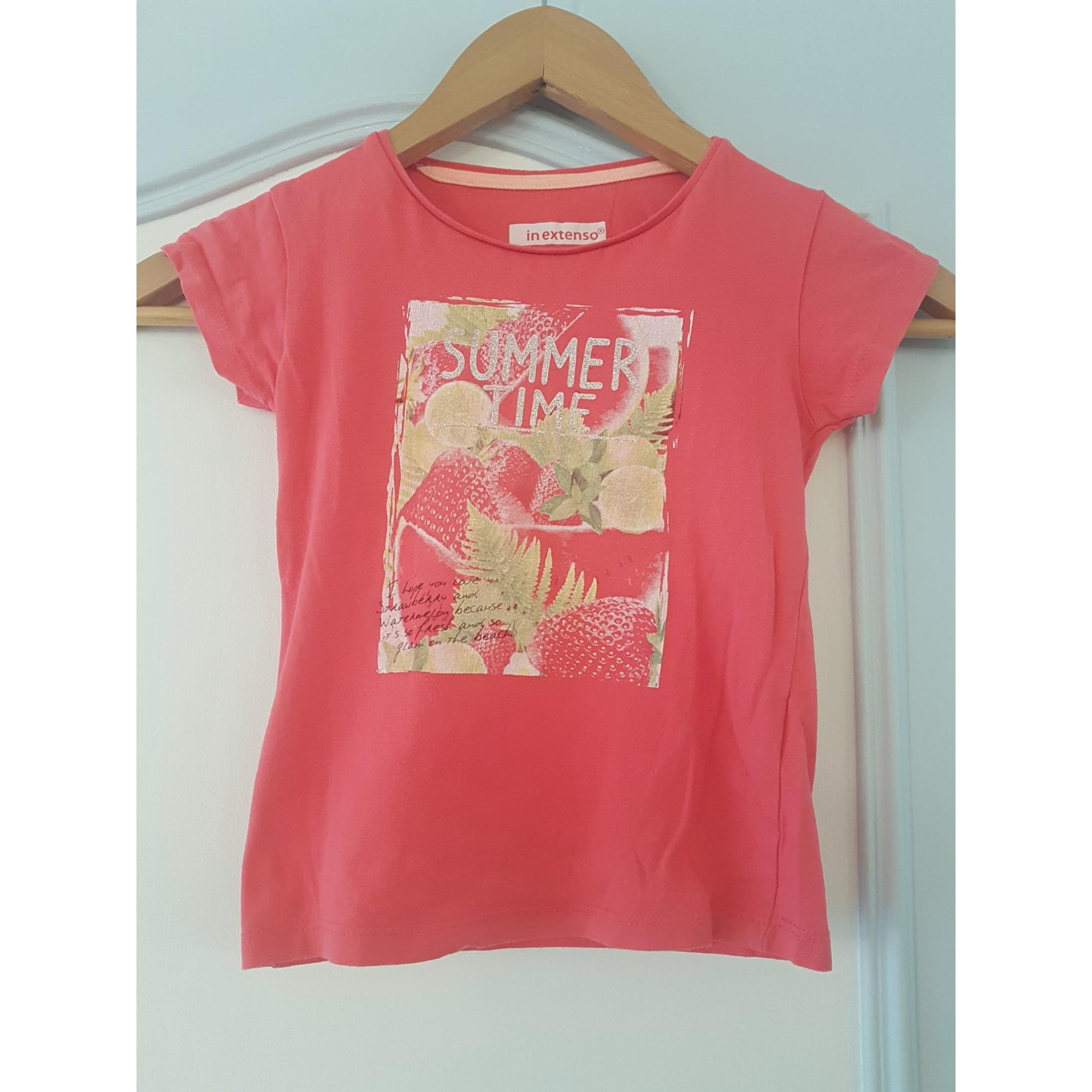 Top, Tee-shirt IN EXTENSO Rose, fuschia, vieux rose