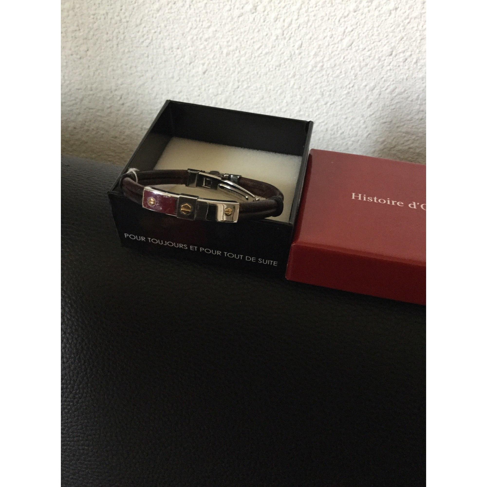 Bracelet HISTOIRE D'OR Marron