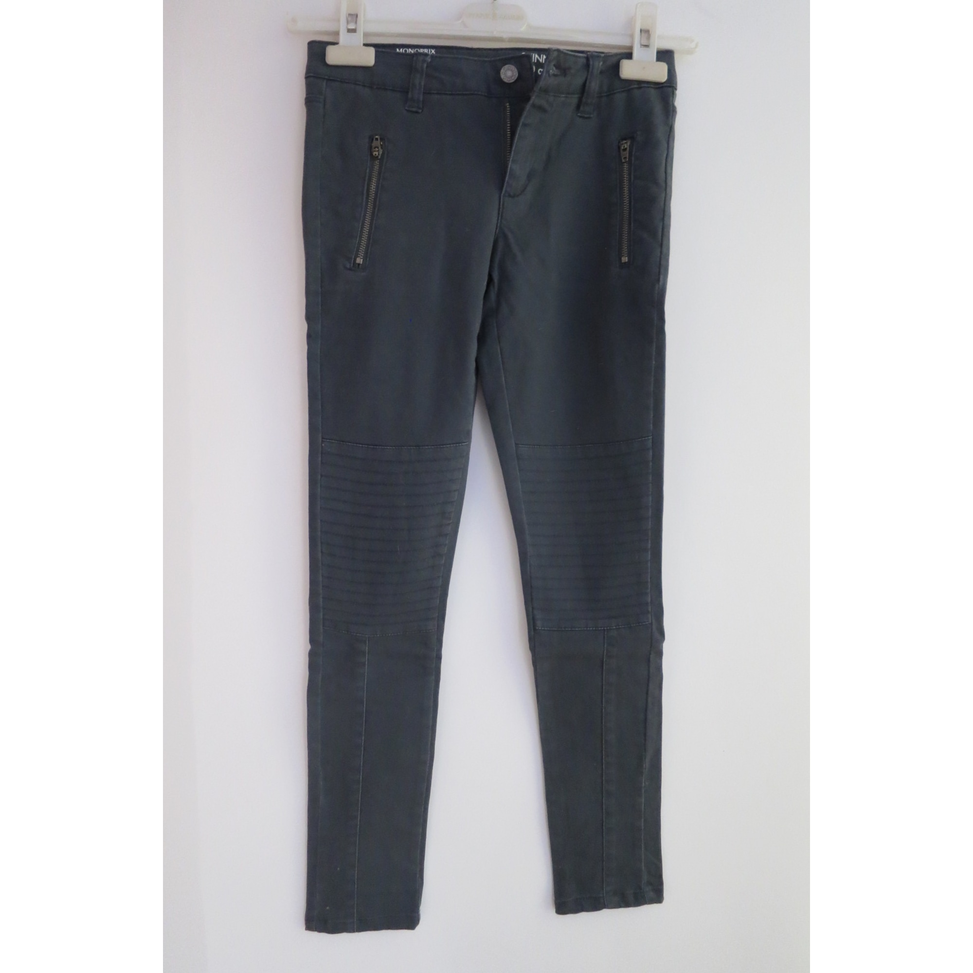Pantalon MONOPRIX Gris, anthracite