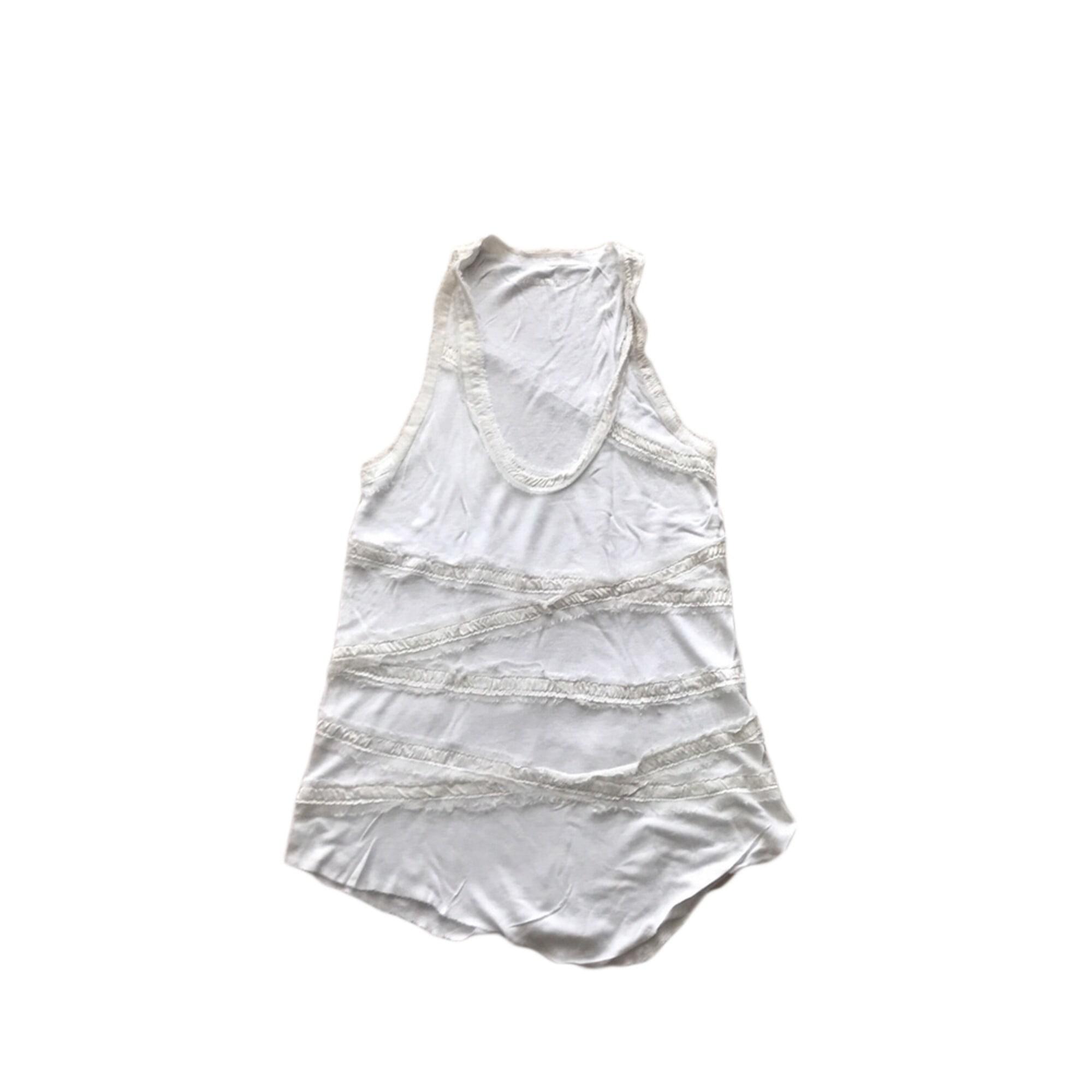 Débardeur ZADIG & VOLTAIRE Blanc, blanc cassé, écru