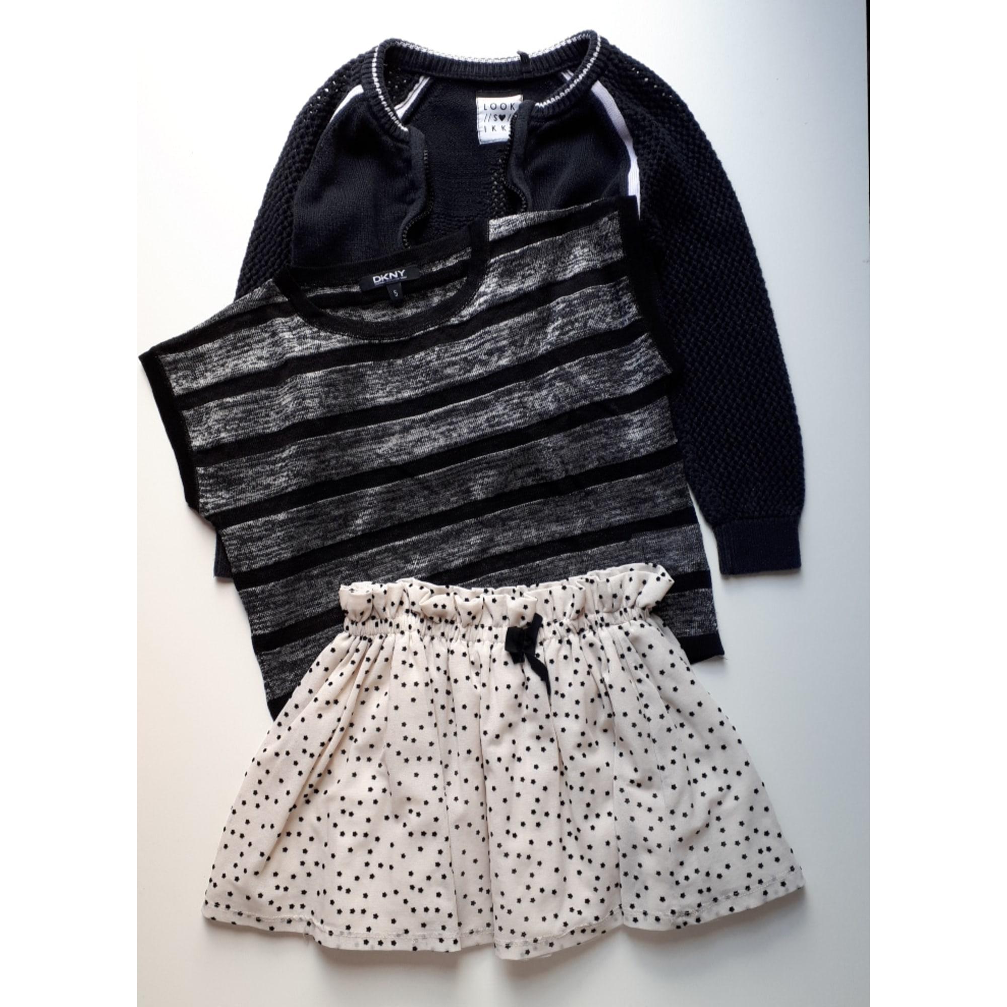 Anzug, Set für Kinder, kurz IKKS Schwarz