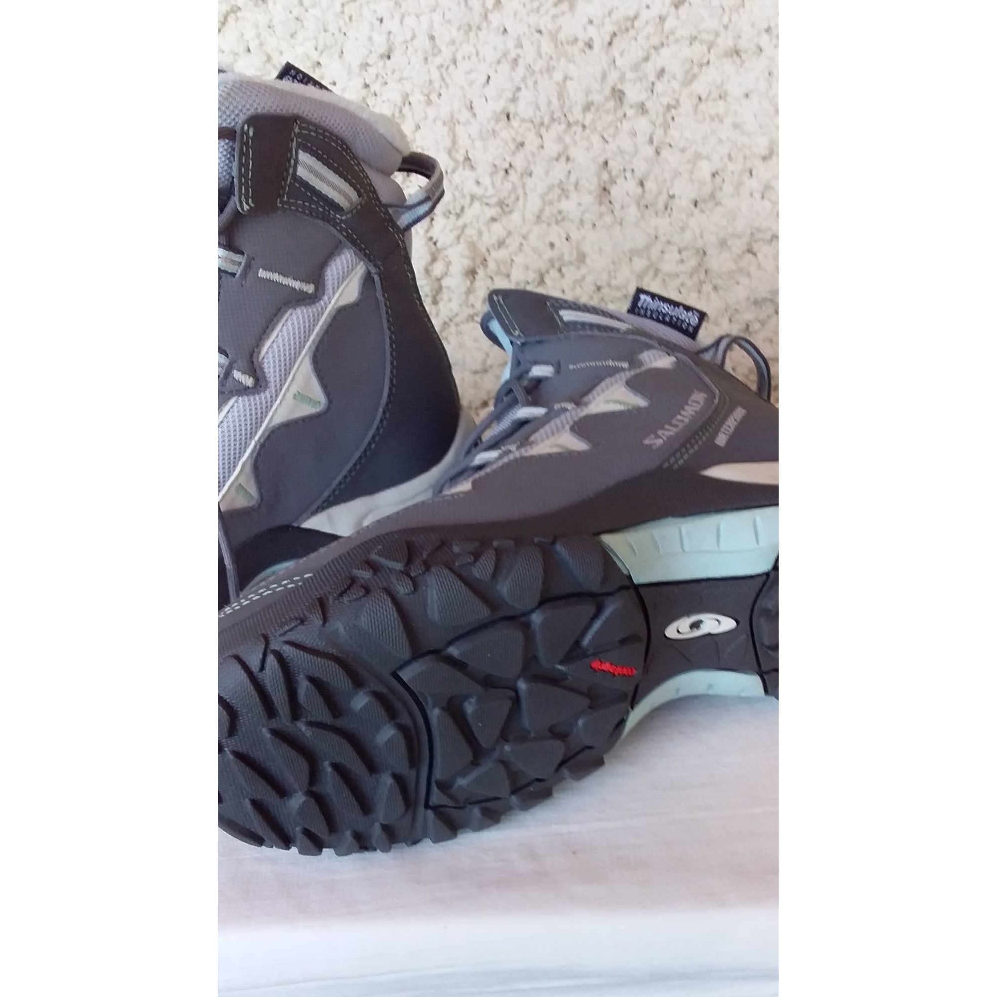 Chaussures de sport SALOMON Gris, anthracite