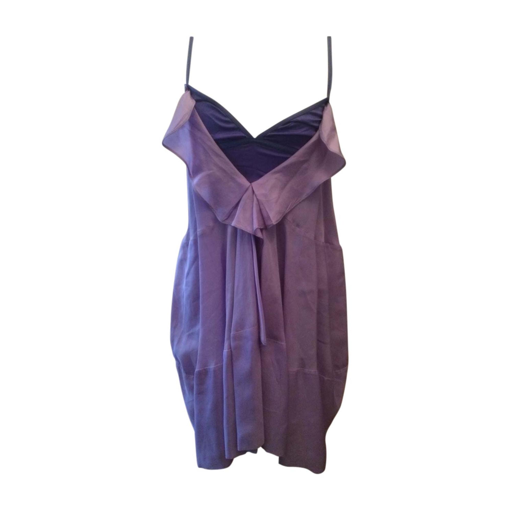 Robe mi-longue VANESSA BRUNO Violet, mauve, lavande