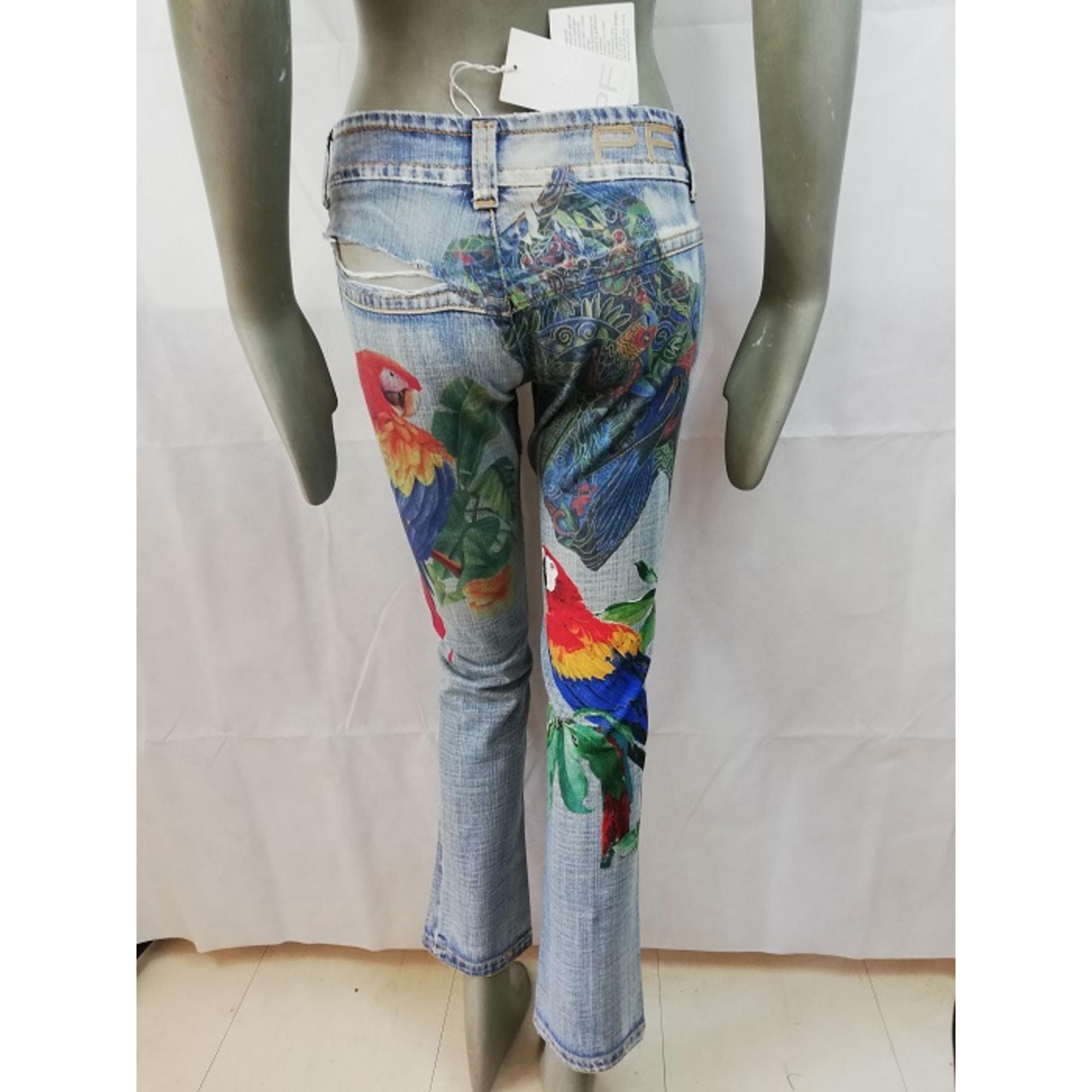 Jeans slim PAOLA FRANI Multicouleur