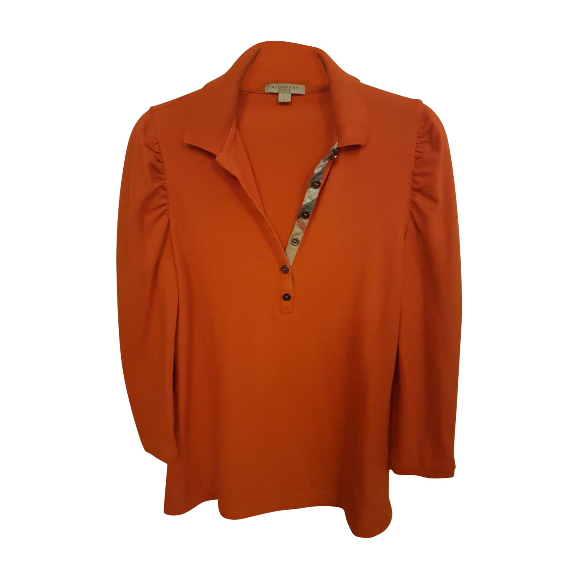 Polo BURBERRY Orange
