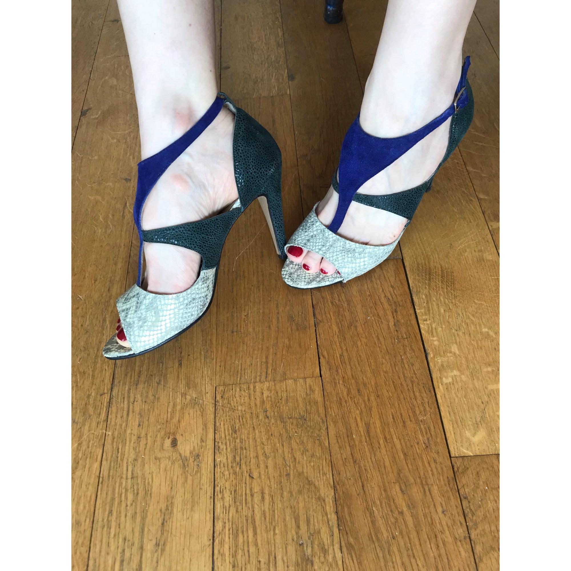 Sandales à talons ROSEANNA X MODETROTTEUR Multicouleur