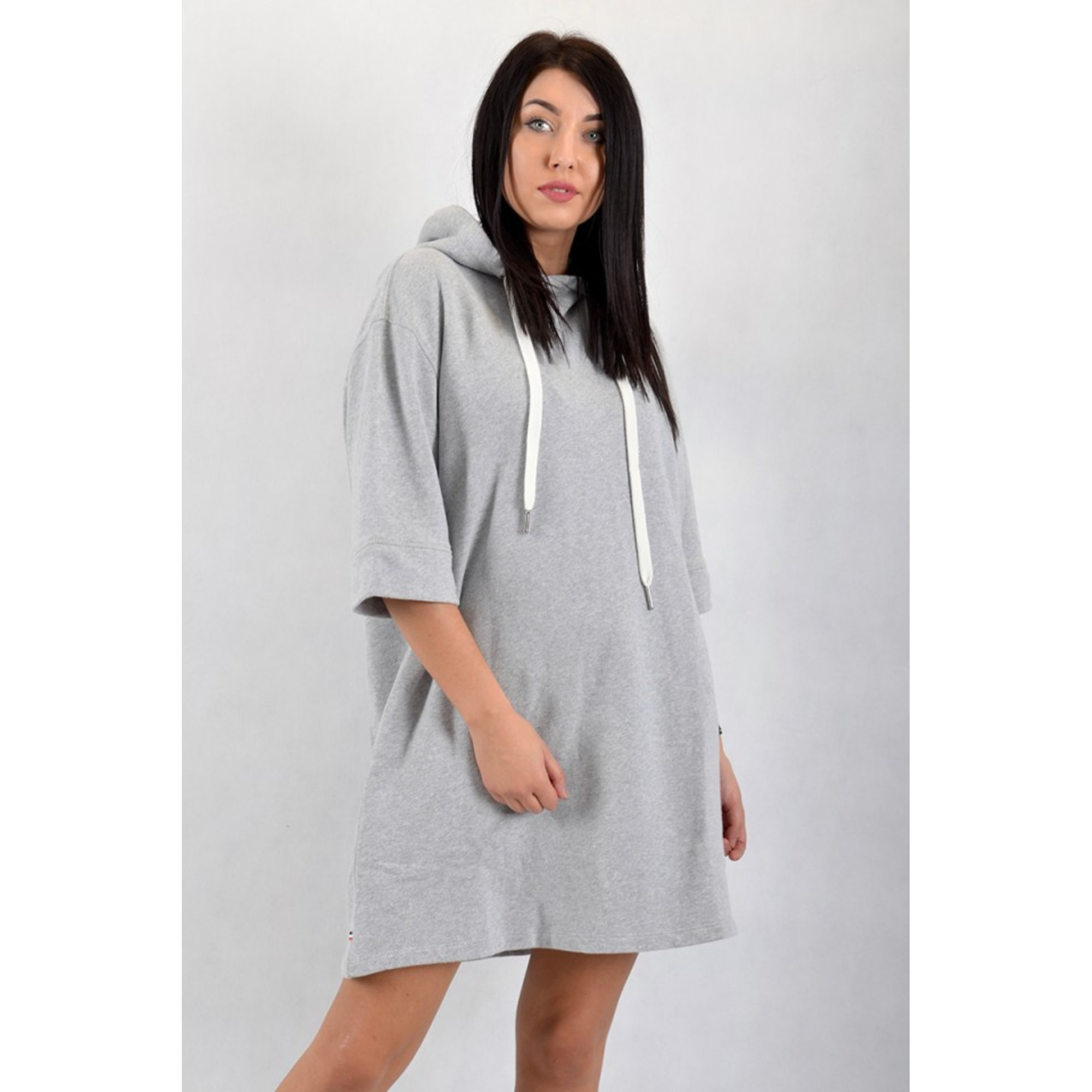 Pull tunique TOMMY HILFIGER Gris, anthracite