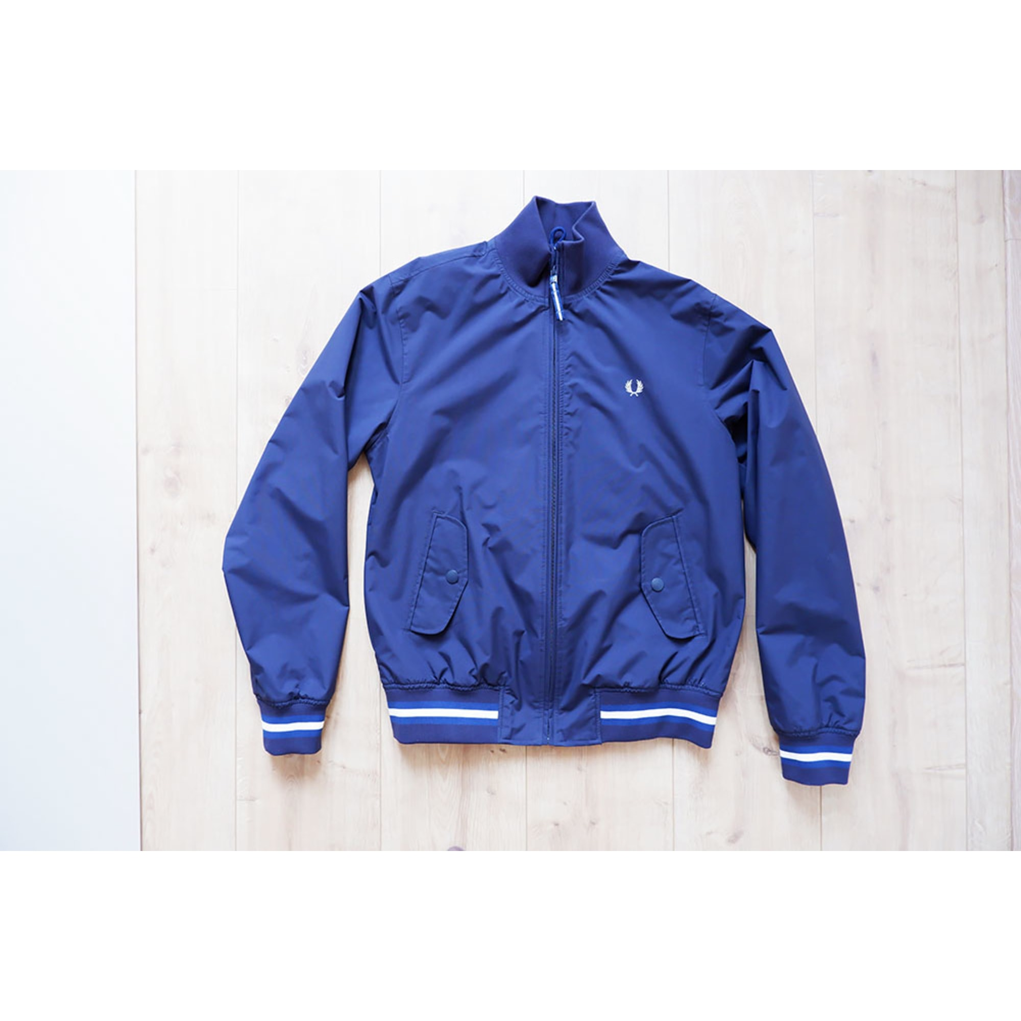 Zipped Jacket FRED PERRY Blue, navy, turquoise