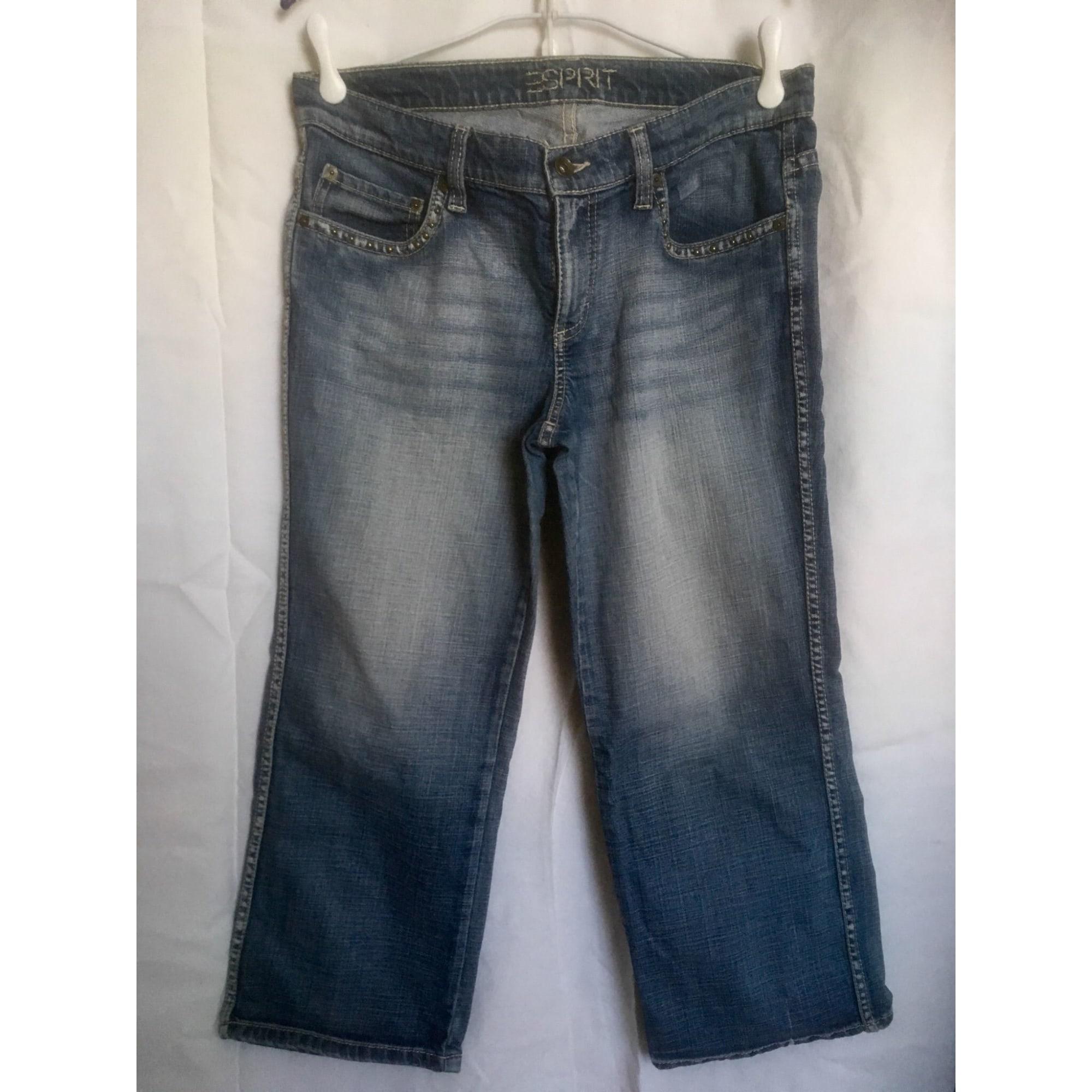 Jeans large, boyfriend ESPRIT Bleu, bleu marine, bleu turquoise