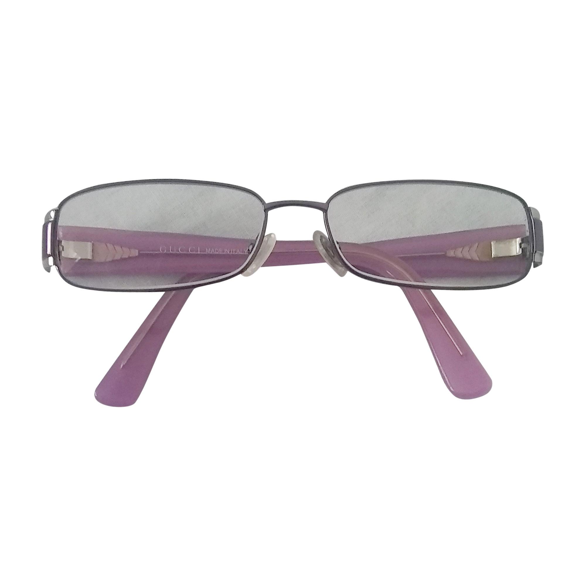 Monture de lunettes GUCCI Violet, mauve, lavande