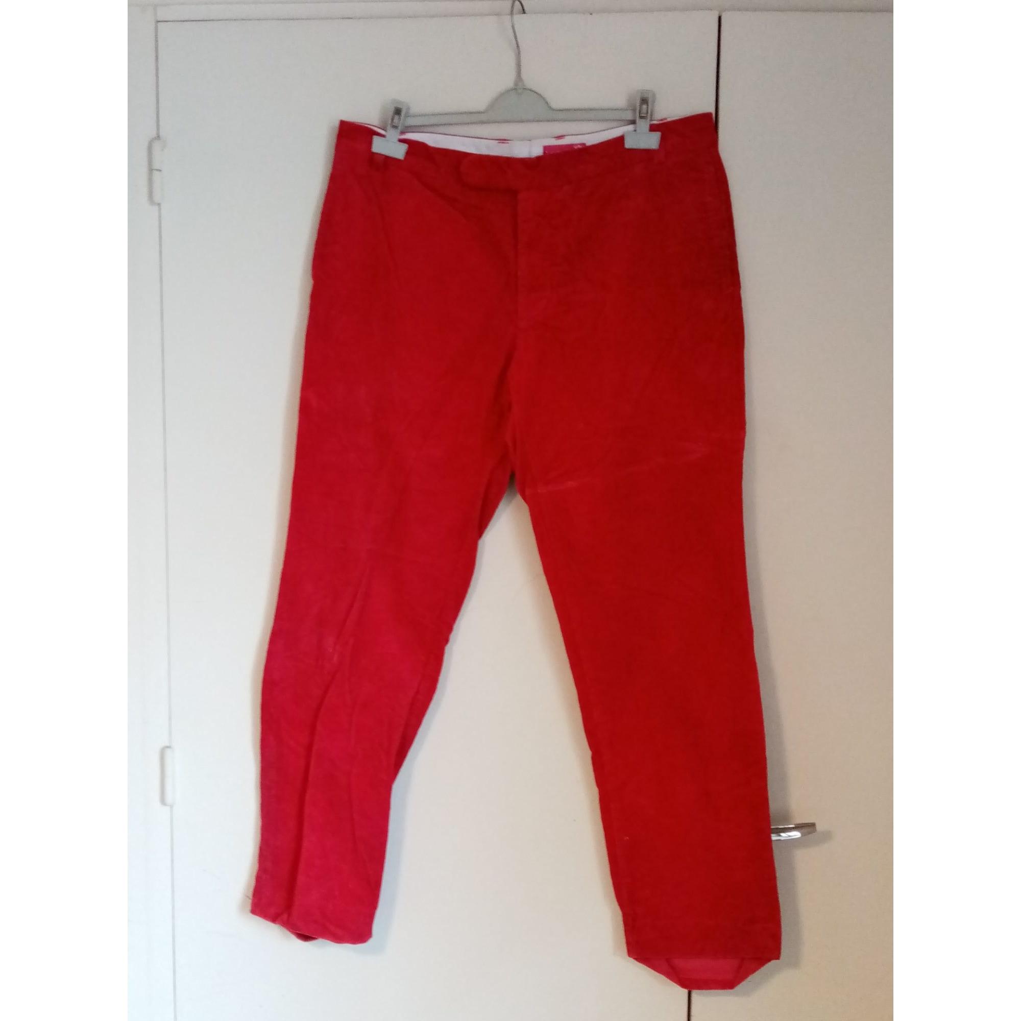 Pantalon droit VICOMTE A. Rose, fuschia, vieux rose