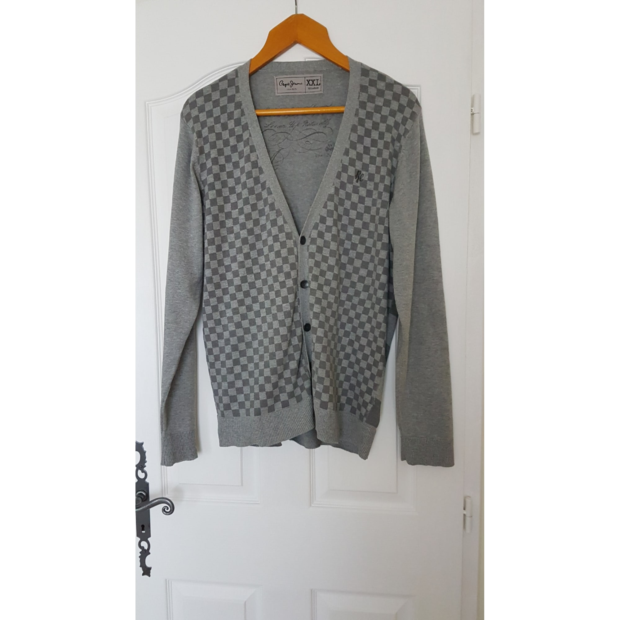 Gilet, cardigan PEPE JEANS Gris, anthracite
