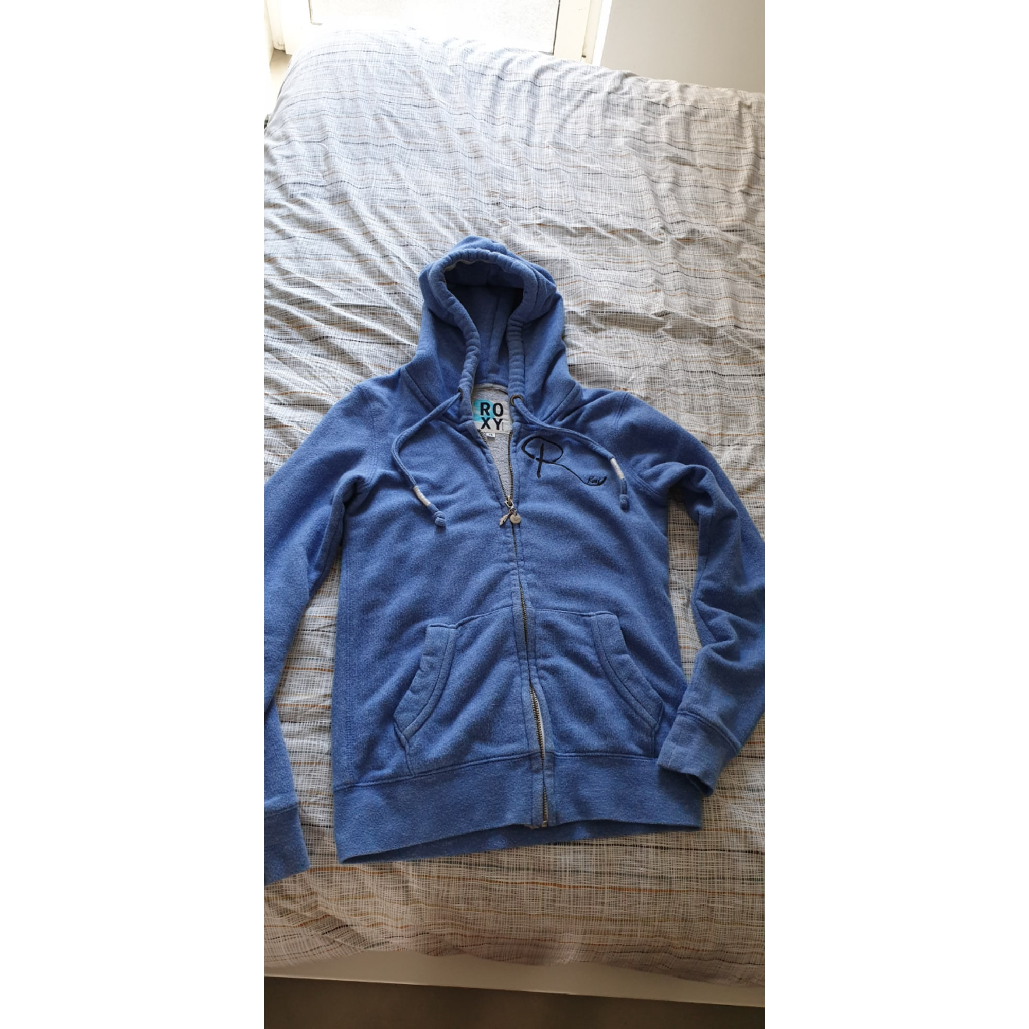 Sweat ROXY Bleu, bleu marine, bleu turquoise