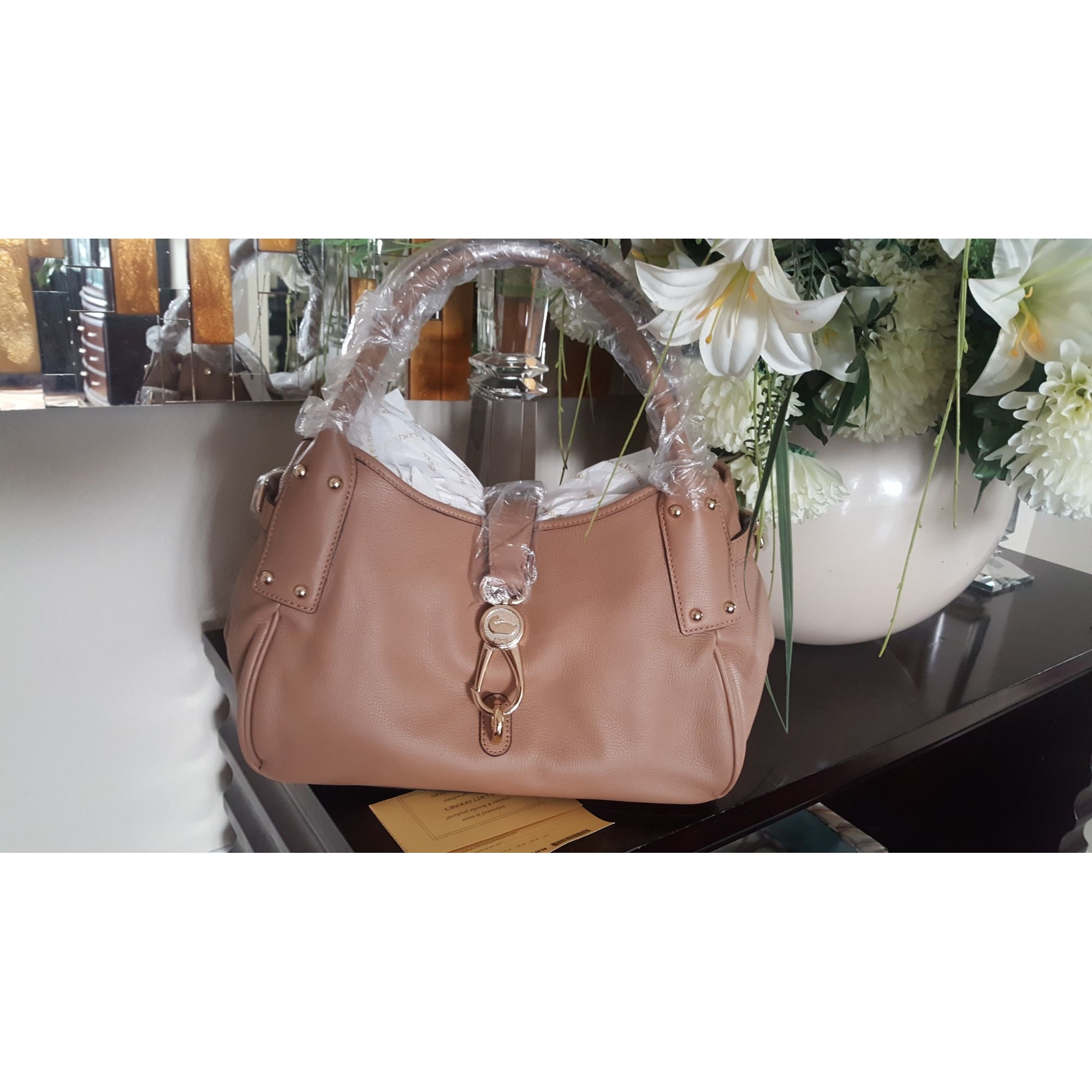 Sac à main en cuir DOONEY & BOURKE Sand