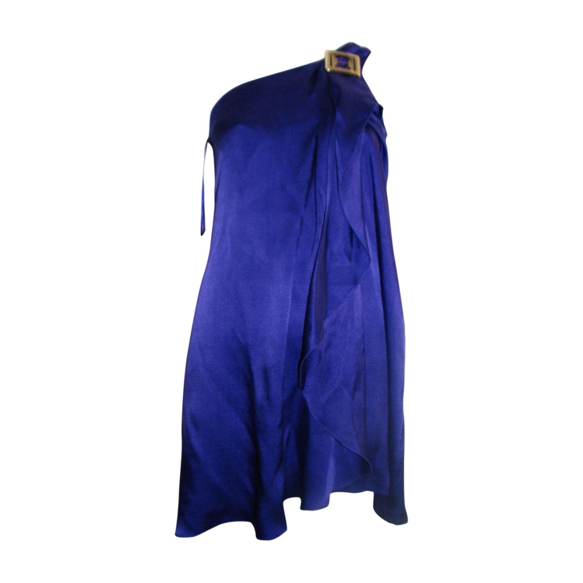 Robe courte HALSTON HERITAGE Violet, mauve, lavande