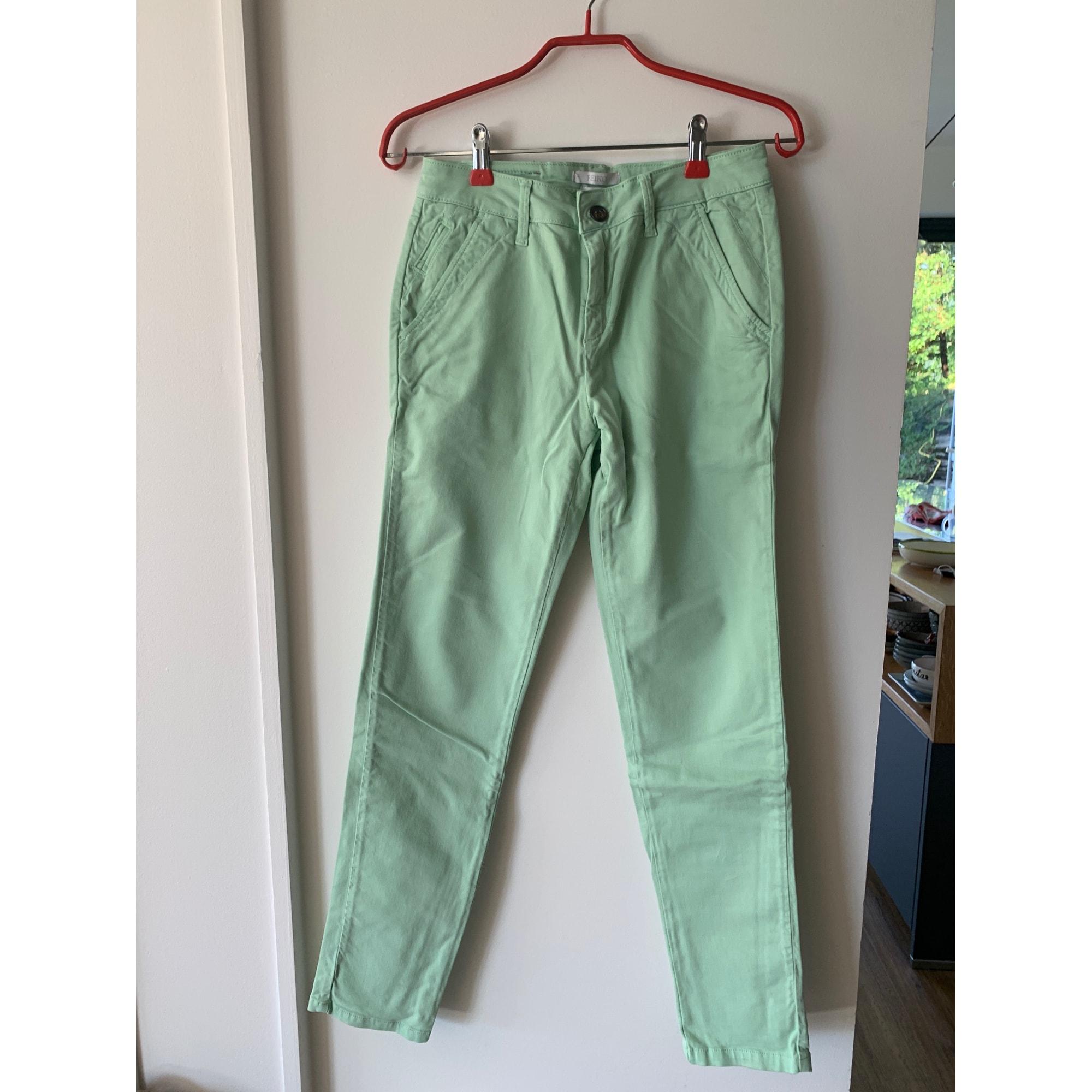Pantalon droit REIKO Vert