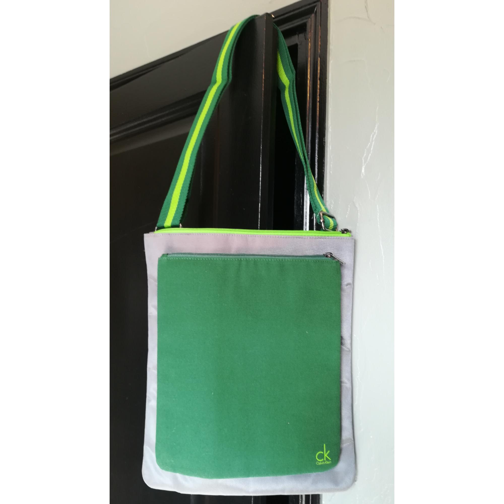 Pochette en bandoulière CALVIN KLEIN Vert
