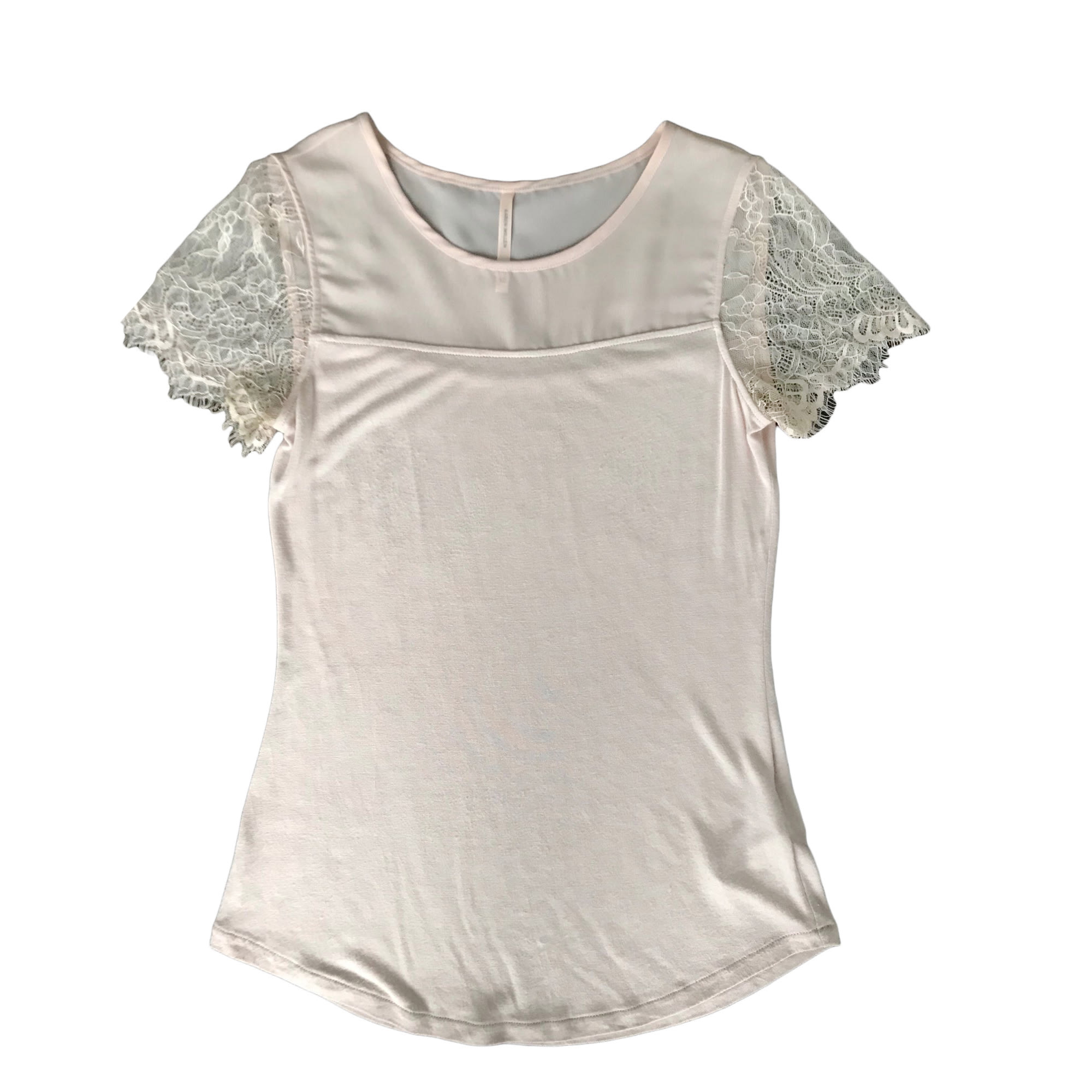 Top, tee-shirt KAREN MILLEN Rose, fuschia, vieux rose