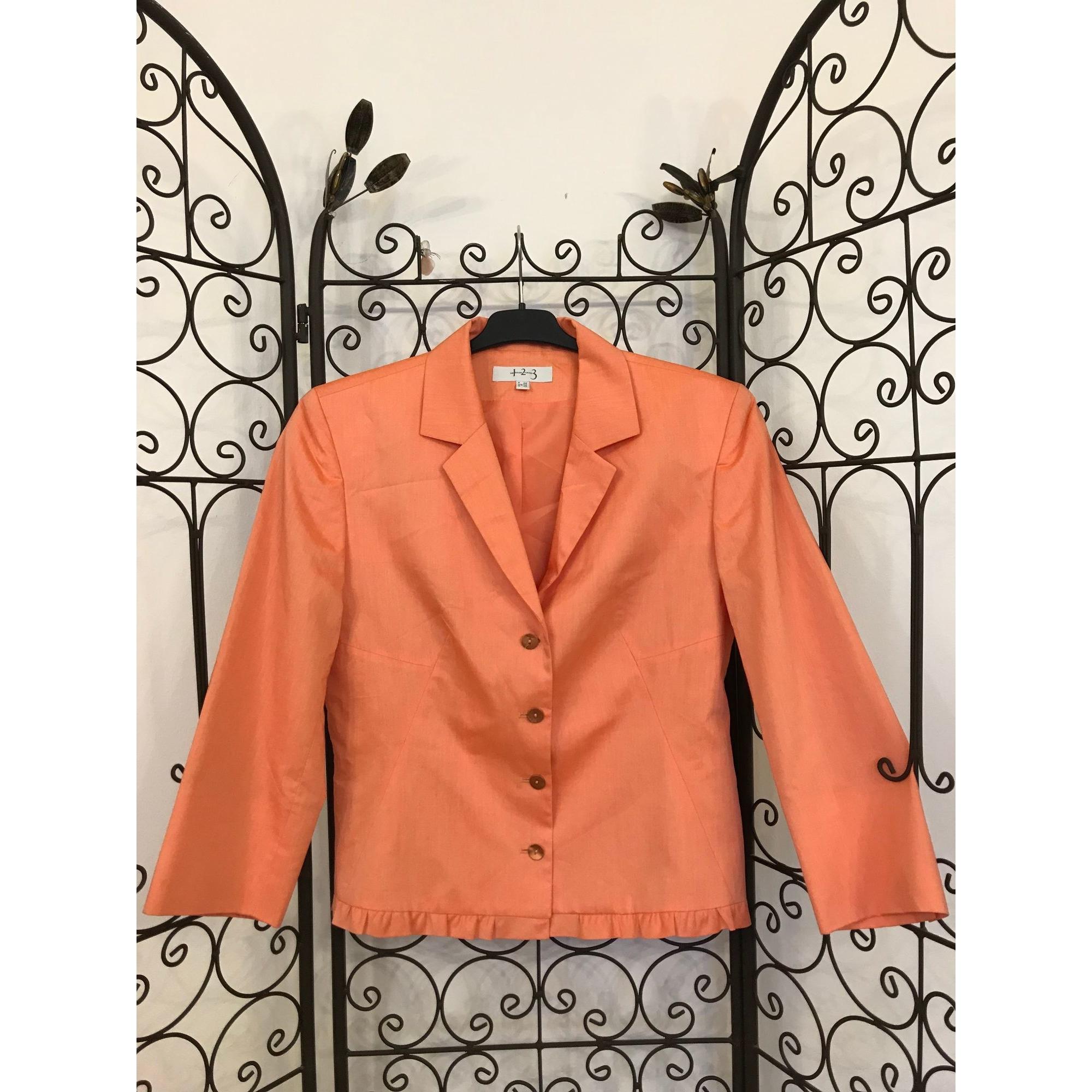 Blazer, veste tailleur 1.2.3 Orange