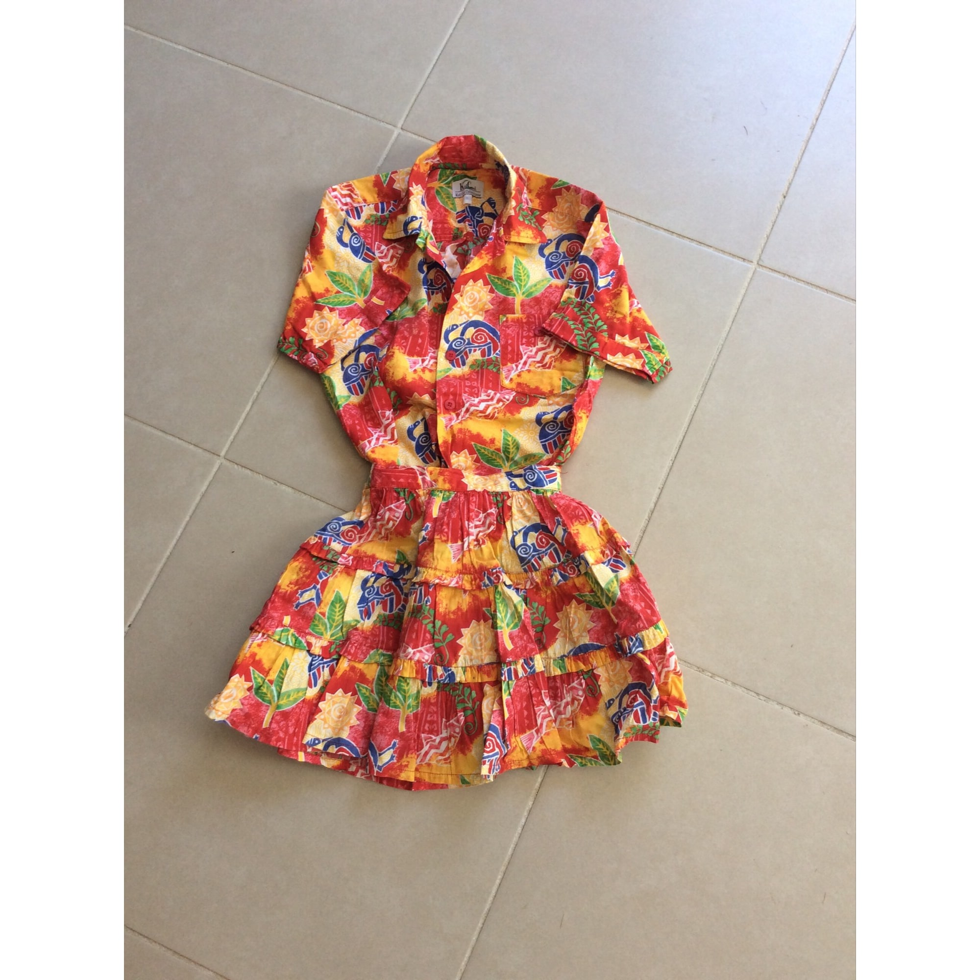 Anzug, Set für Kinder, kurz KID COOL Mehrfarbig