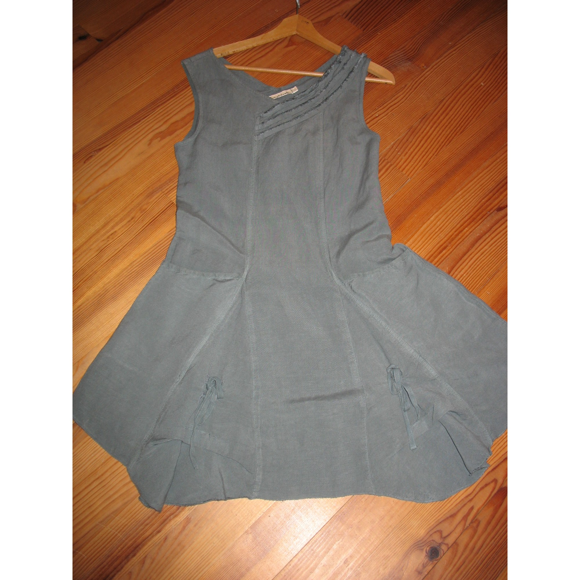 Robe mi-longue LAKLOOK Gris, anthracite