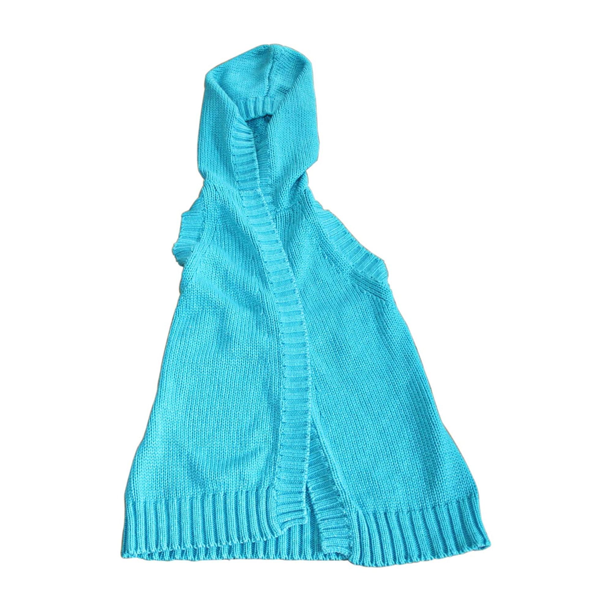 Gilet sans manches CÉLINE Bleu, bleu marine, bleu turquoise