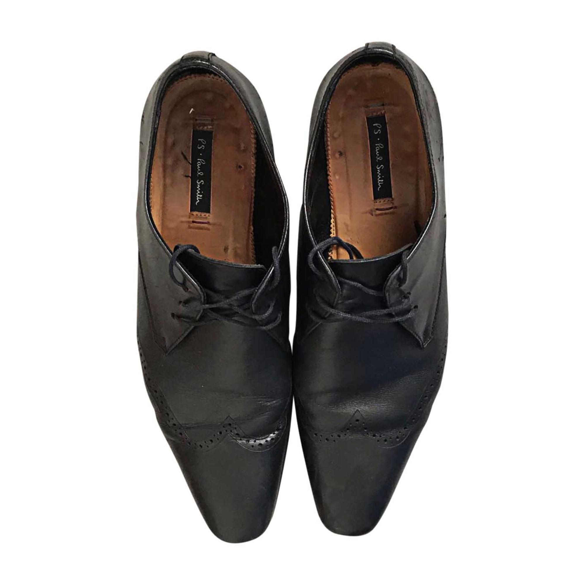 Chaussures à lacets PAUL SMITH Noir