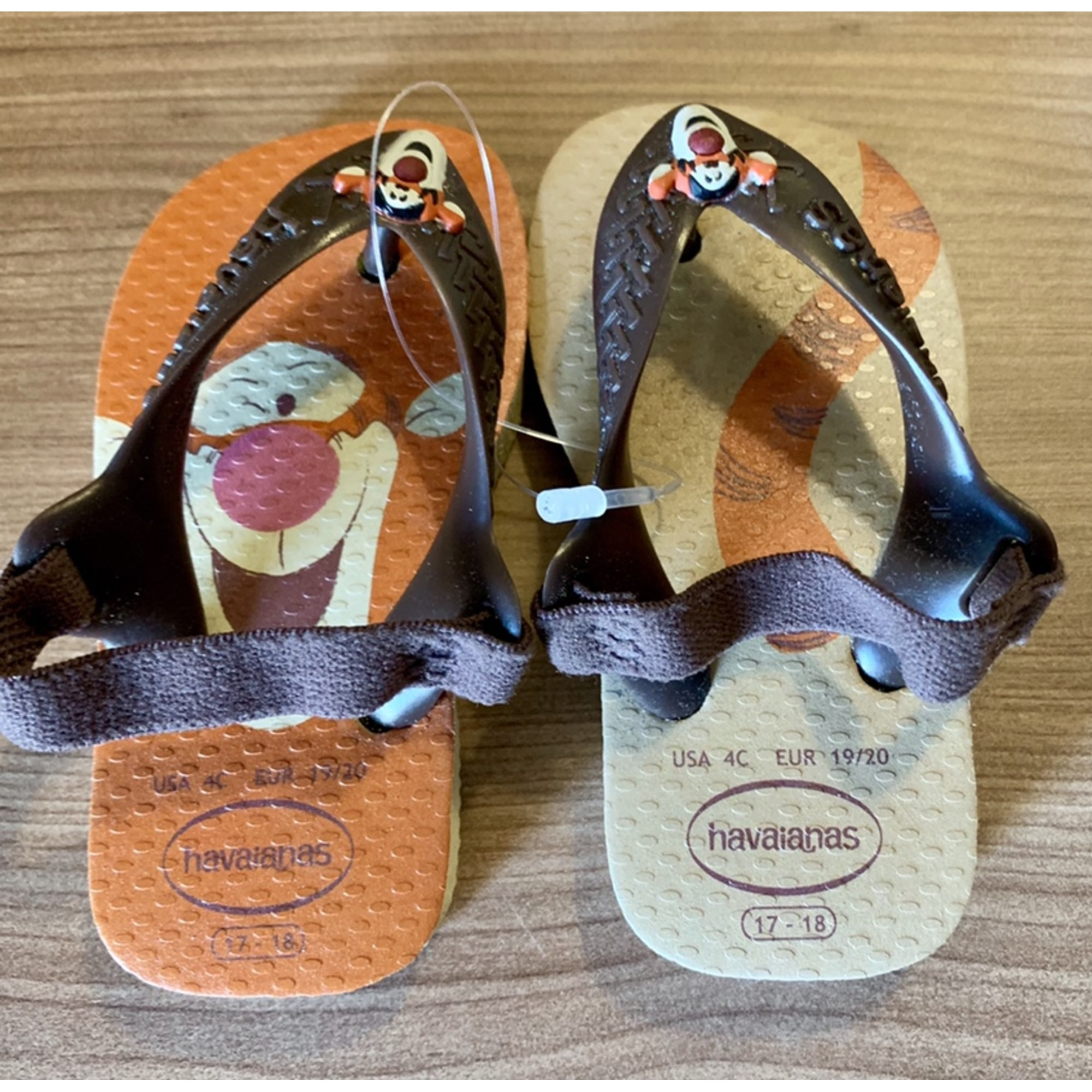 Sandals HAVAÏANAS Animal prints
