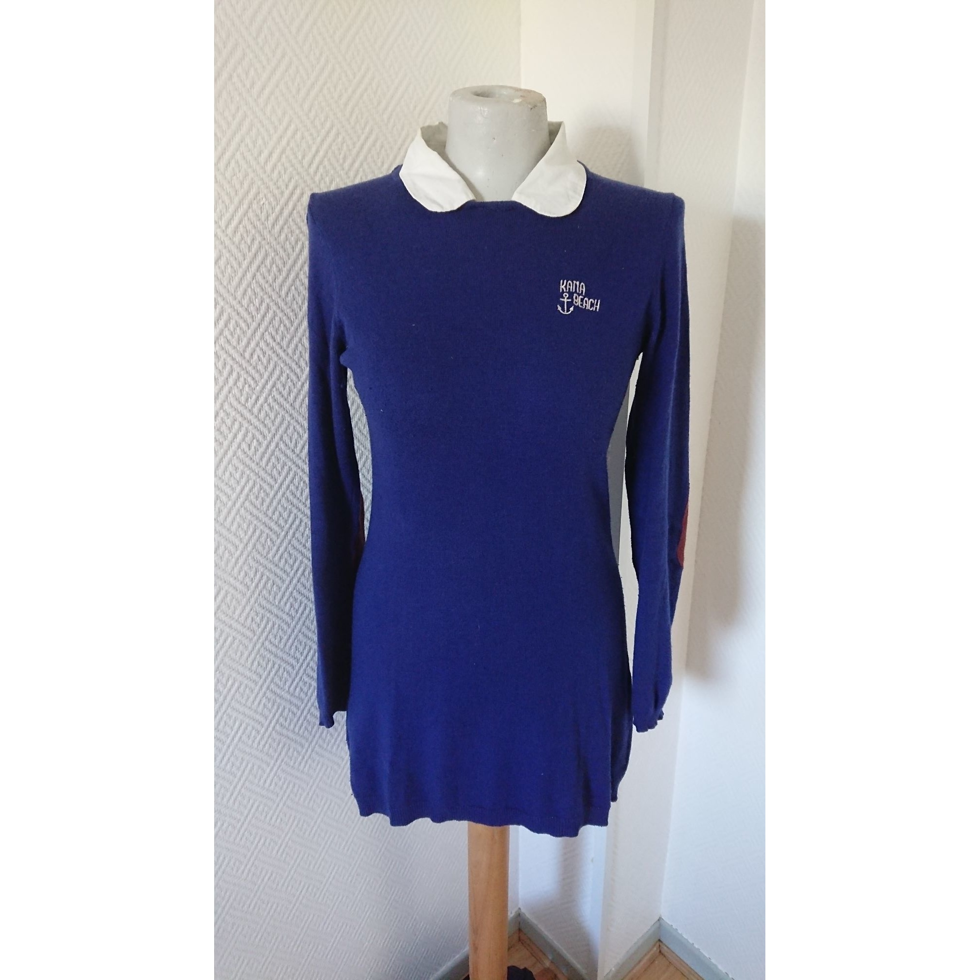 Pull tunique KANABEACH Bleu, bleu marine, bleu turquoise