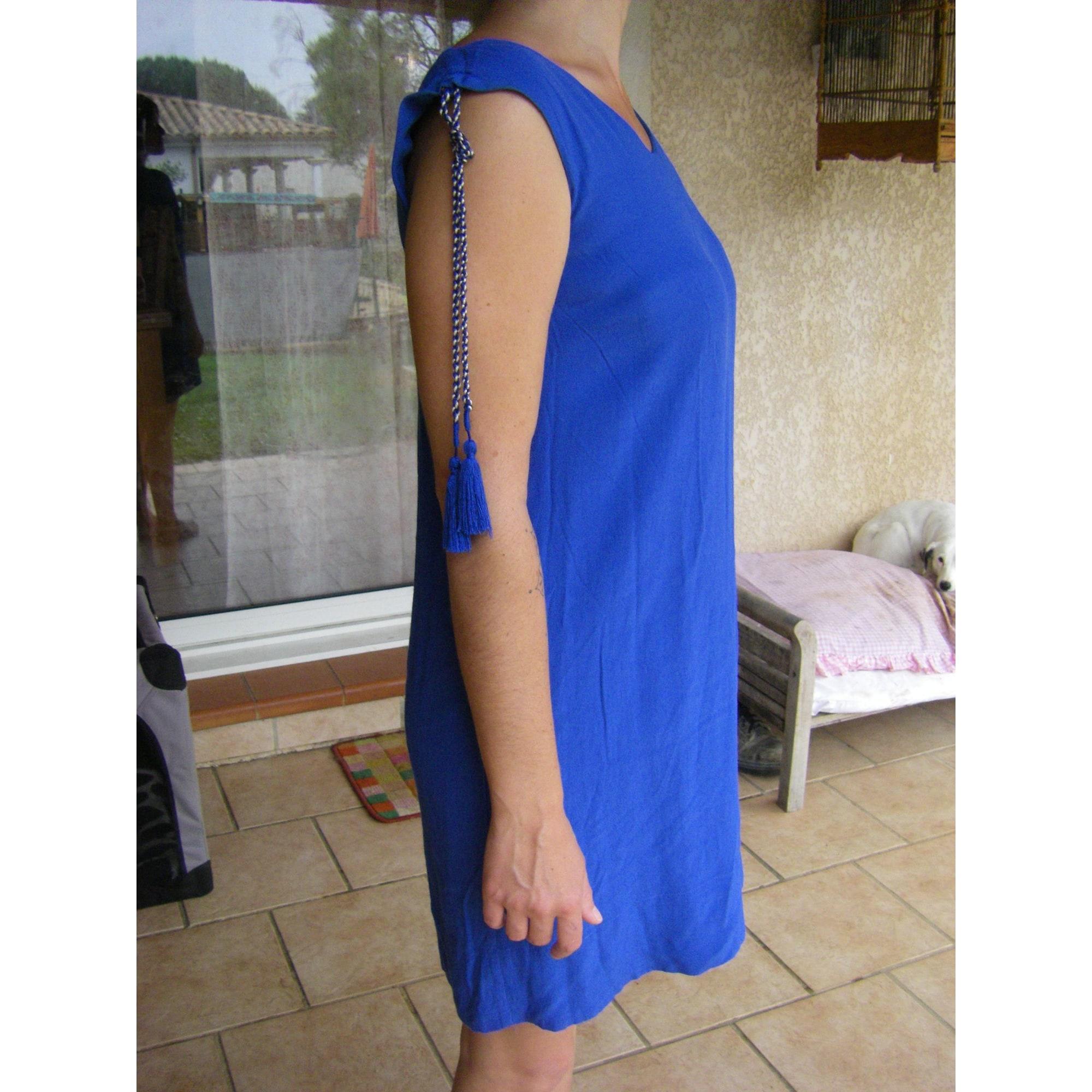 Robe tunique COMPTOIR DES COTONNIERS Bleu, bleu marine, bleu turquoise