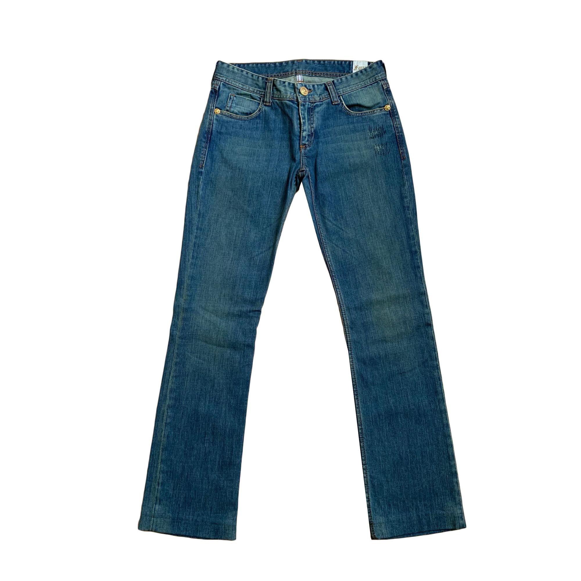 Jeans droit FAITH CONNEXION Bleu, bleu marine, bleu turquoise