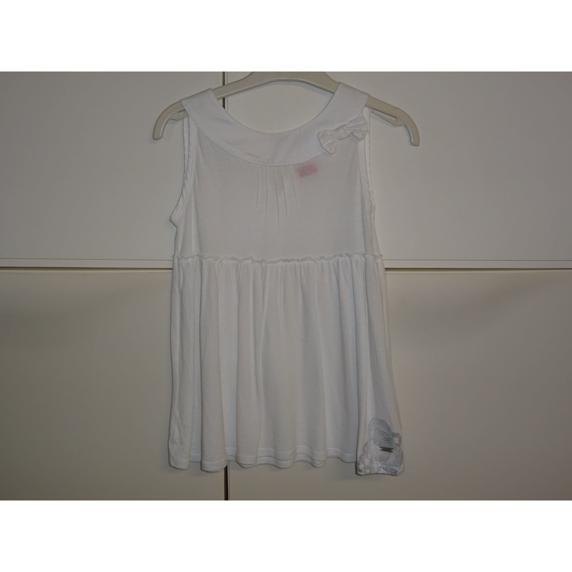 Top, Tee-shirt ELLE Blanc, blanc cassé, écru